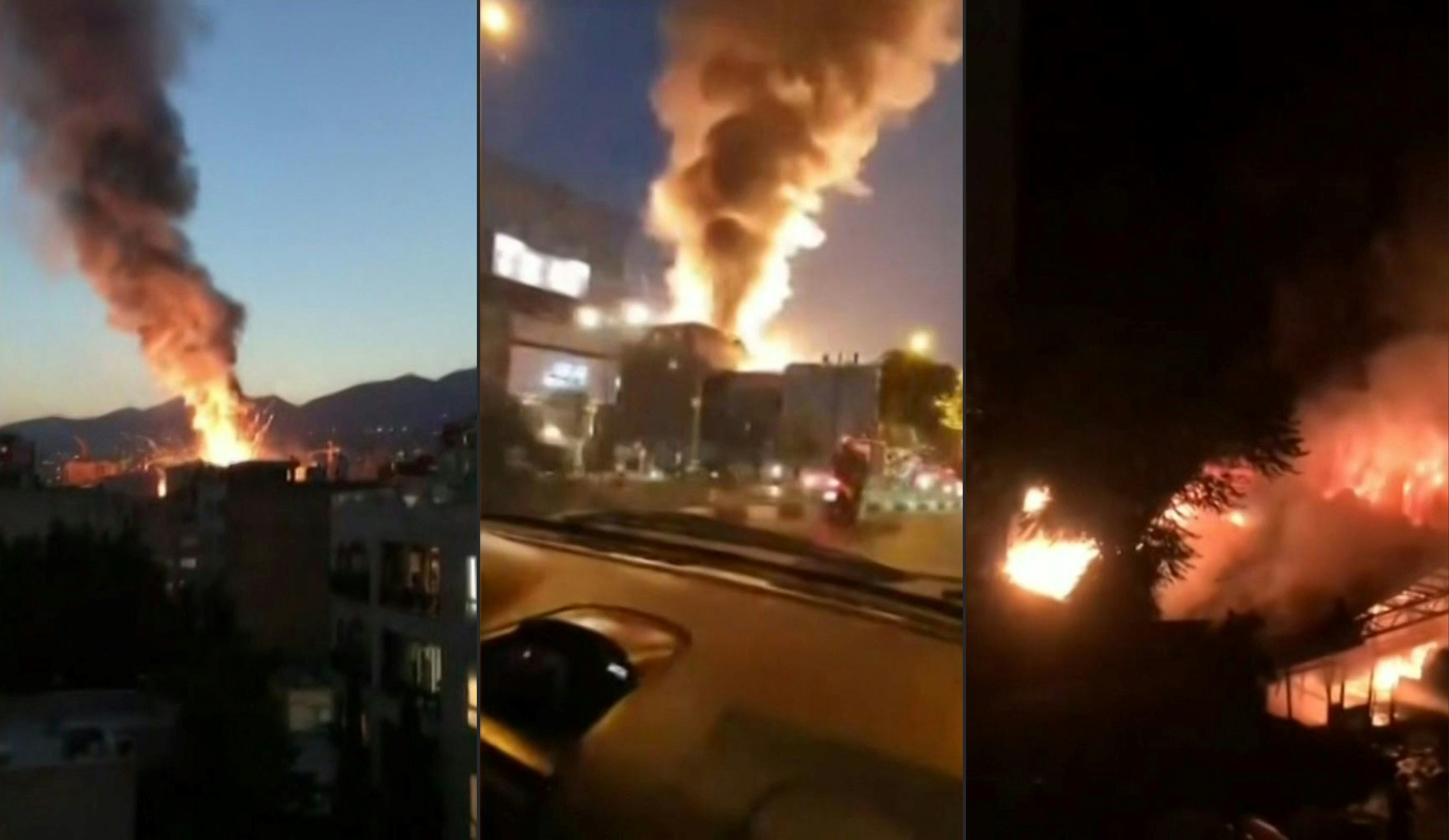 Iran denies latest blast reports and accuses west of misinformation