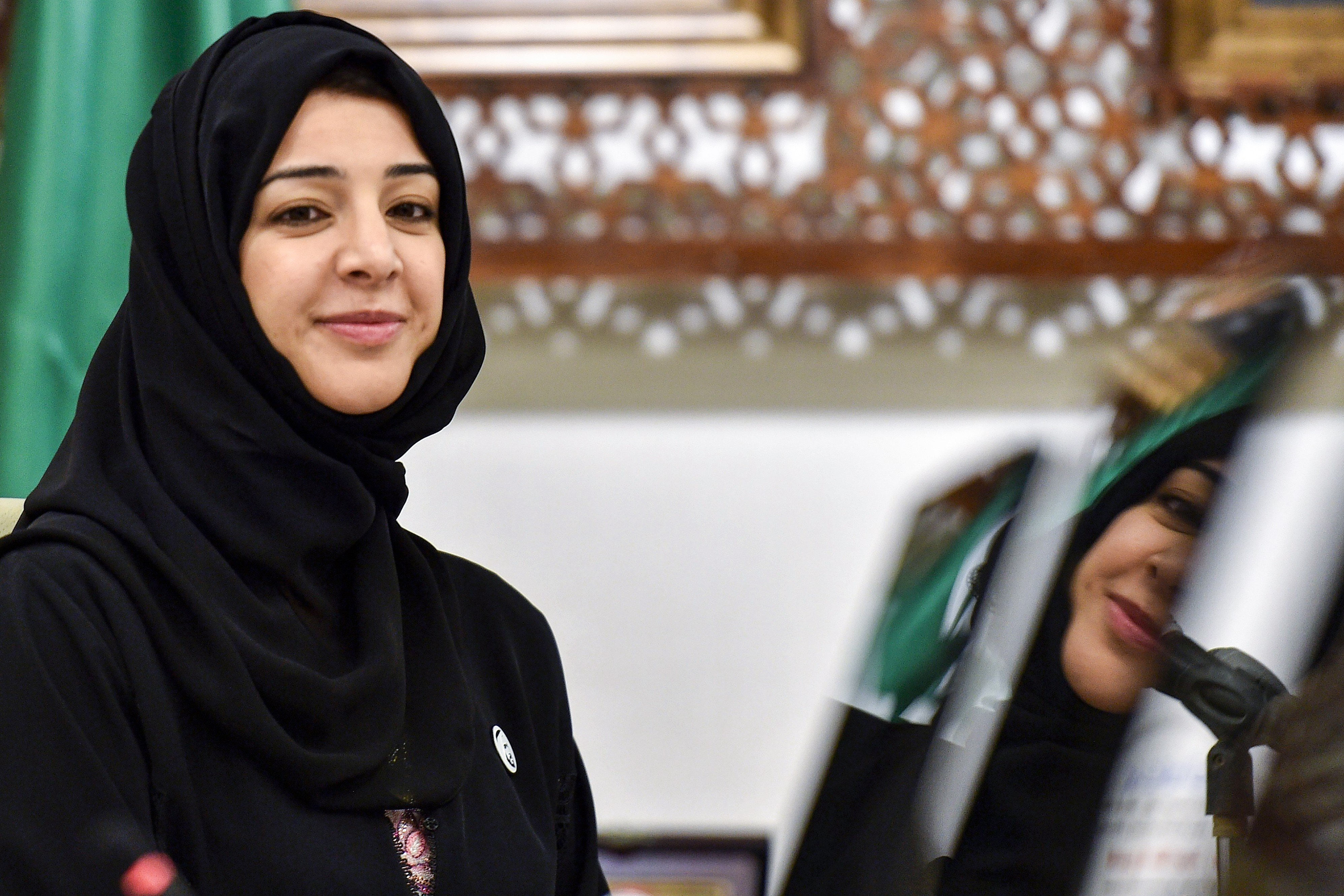Reem Al-Hashimi, UAE Minister of State for International Cooperation (AFP)