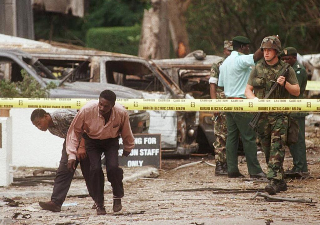 Masri was indicted in the United States for his involvement in the US embassy bombings in Tanzania and Kenya (AFP)