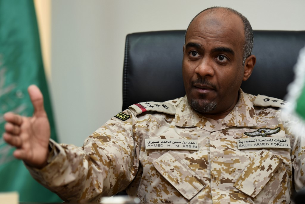 Ahmed al-Assiri was deputy head of military intelligence at the time of Khashoggi's assassination (AFP)