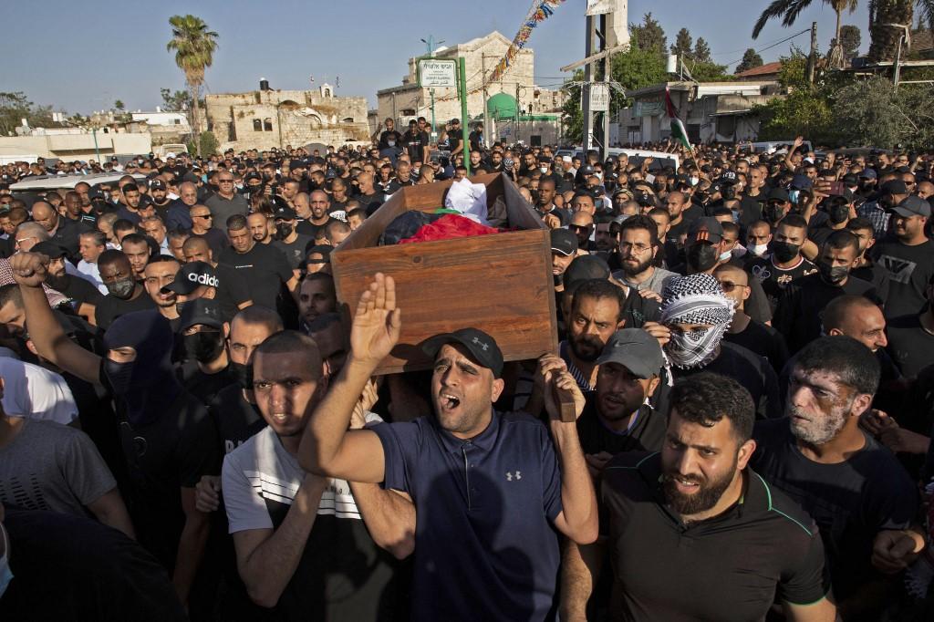 Moussa Hassouna funeral