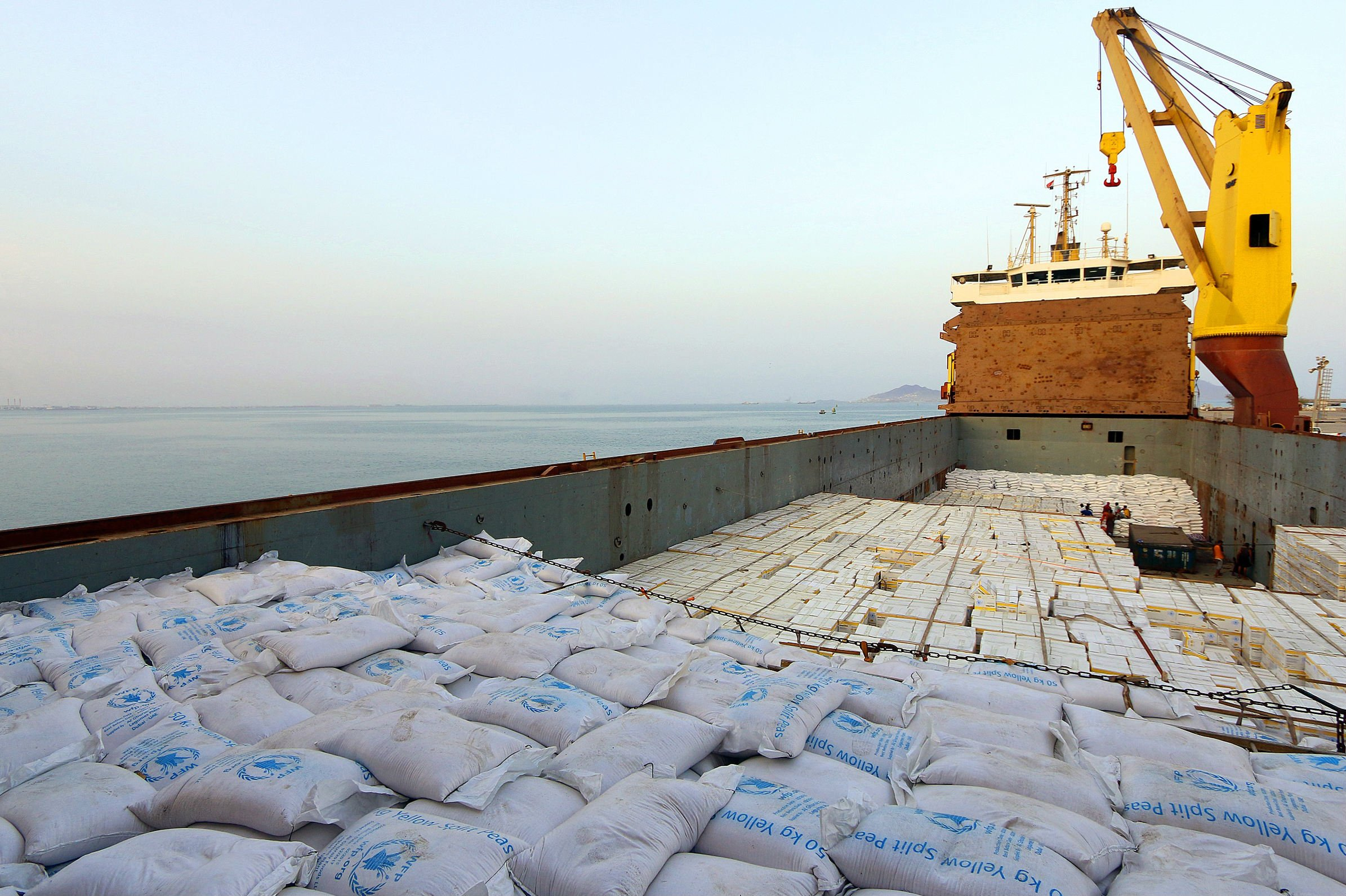 The WFP supplies food aid to millions of Yemenis (AFP)