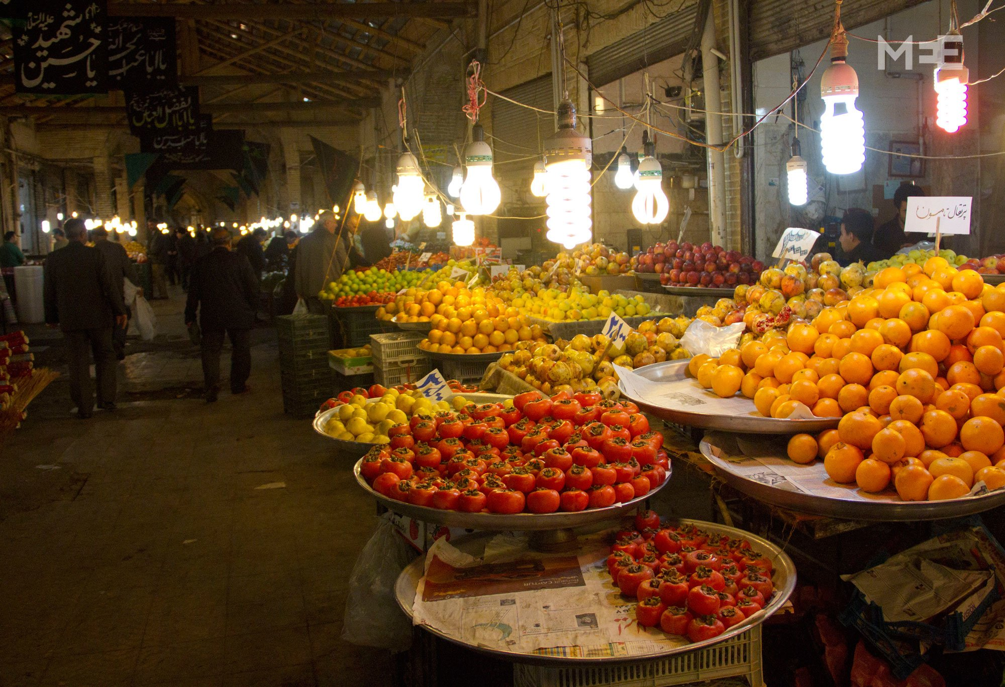 The Persian bazaar still thrives in modern Iran