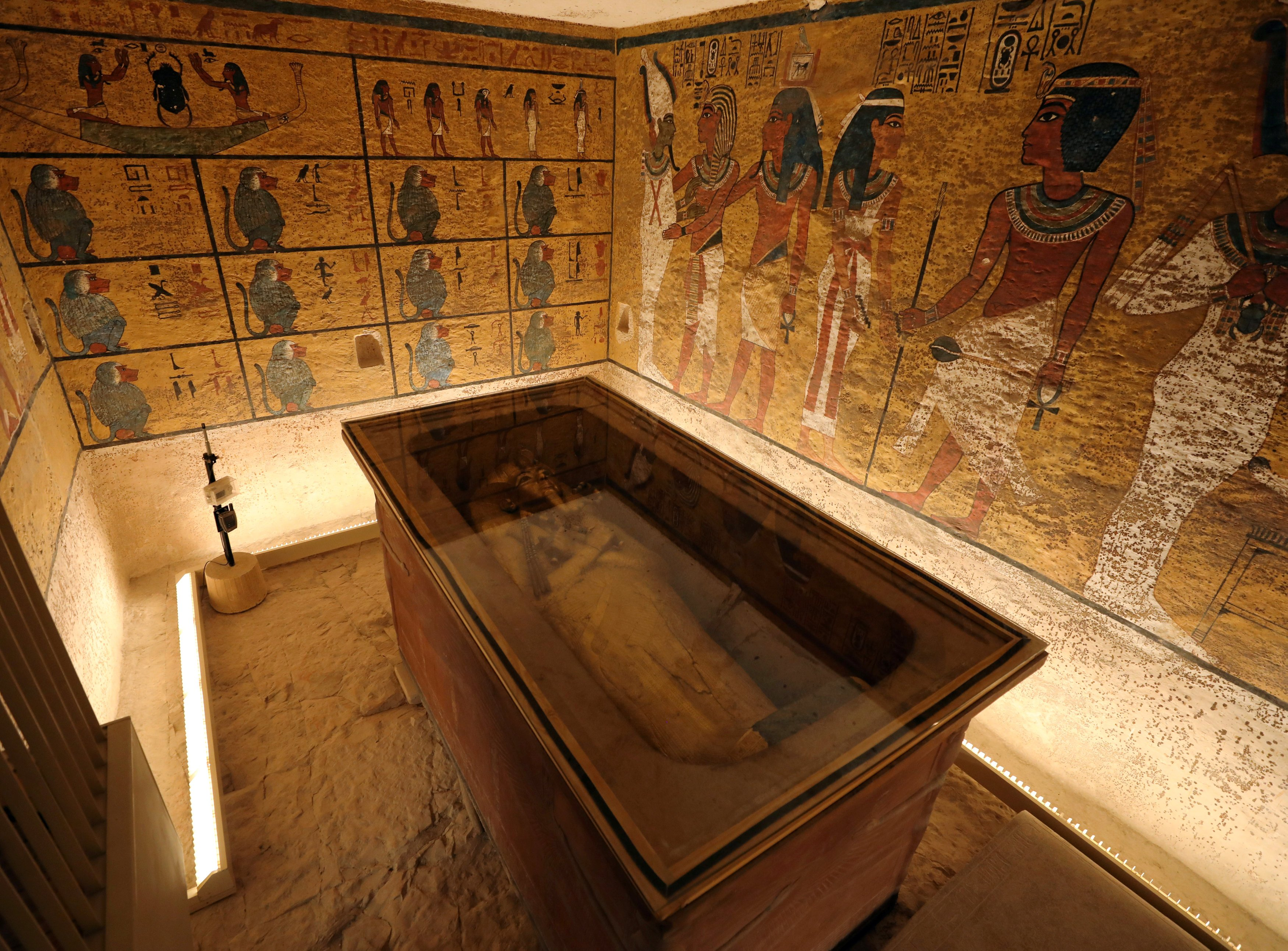 The tomb first became a worldwide sensation when it was discvovered by British archaeologist Howard Carter in 1922, partly because it was so well preserved. But since then dust, damp and visitors have all taken their toll on the site and its treasures (Reuters).