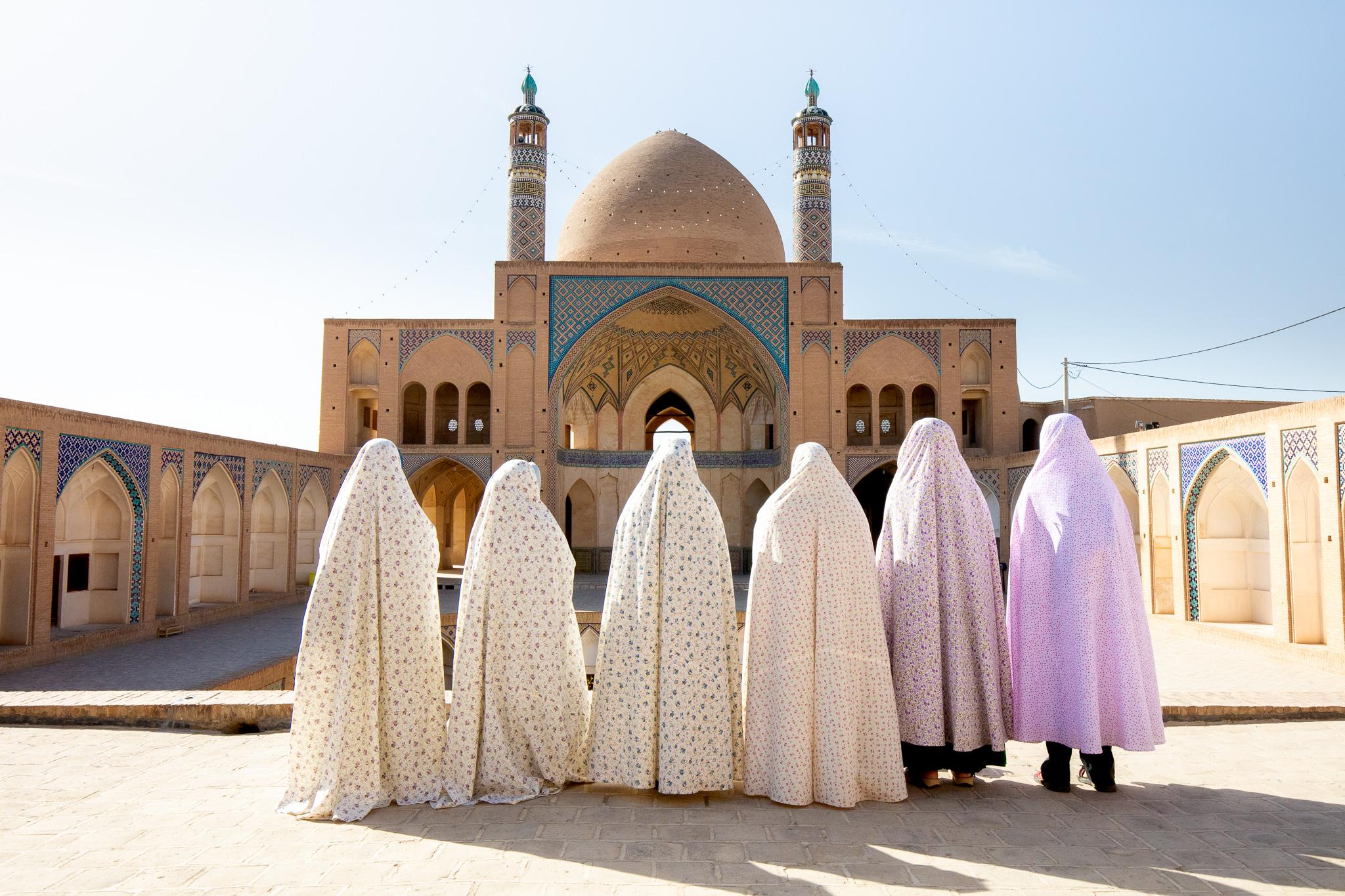 Aga Bozorg Mosque, Kashan