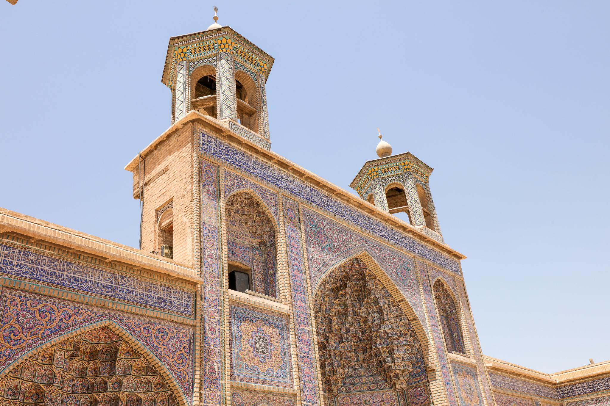 Nasir al-Mulk Mosque ('Pink Mosque'), Shiraz