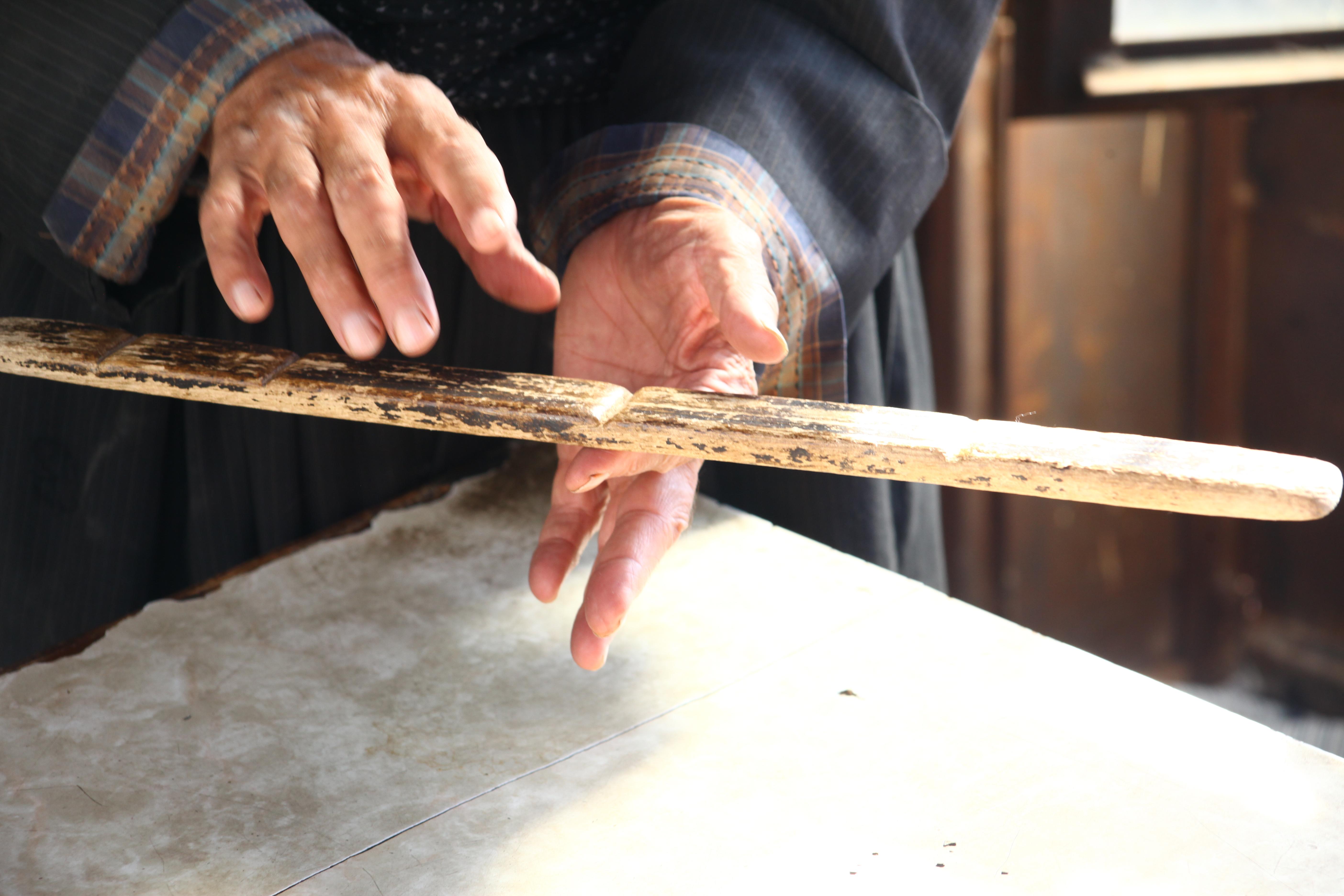 Ali Badri's special measuring tool