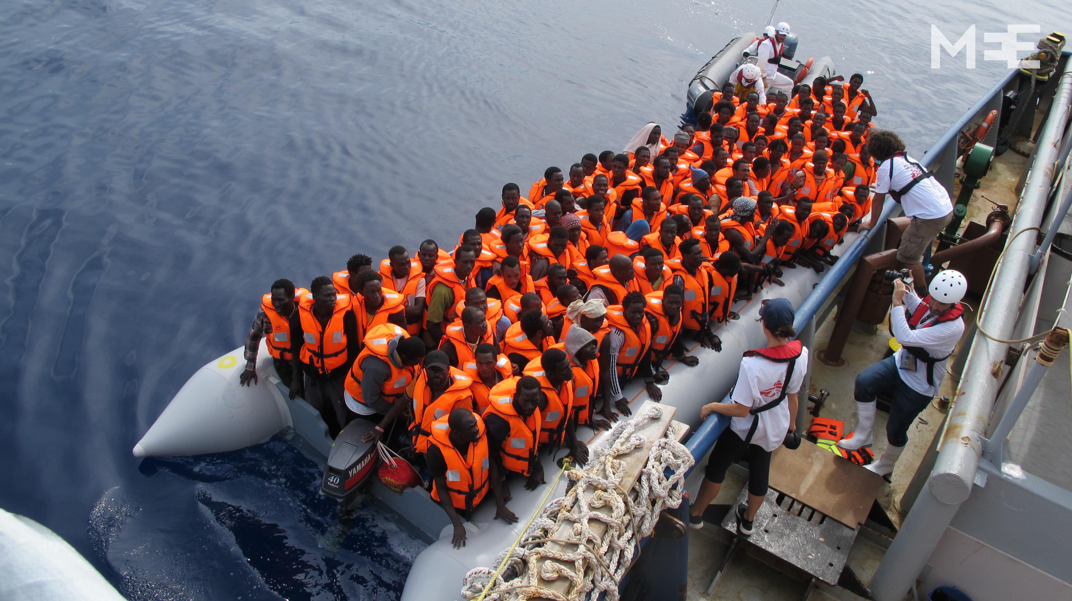 u0026 39 thank you for saving my life u0026 39   aboard a refugee rescue