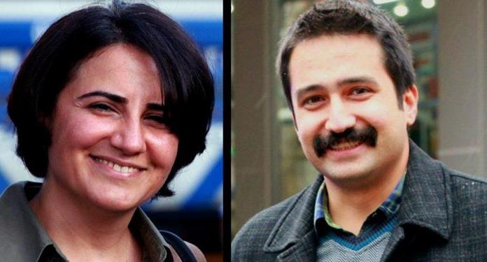 Ebru Timtik and Aytac Unsal, prior to beginning their hunger strikes (CHD)