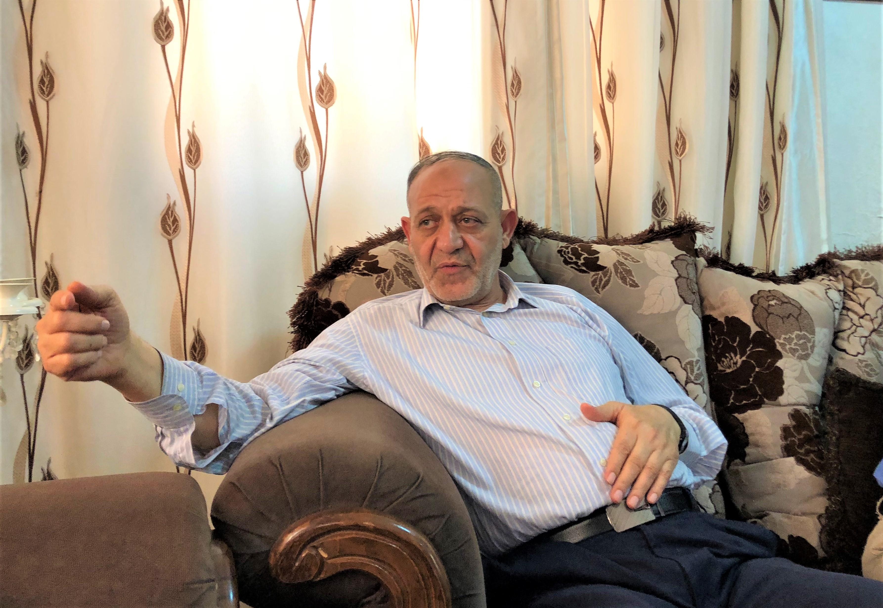 Bassam Al-saadi telling MEE about his mother's memories of Al-qassam