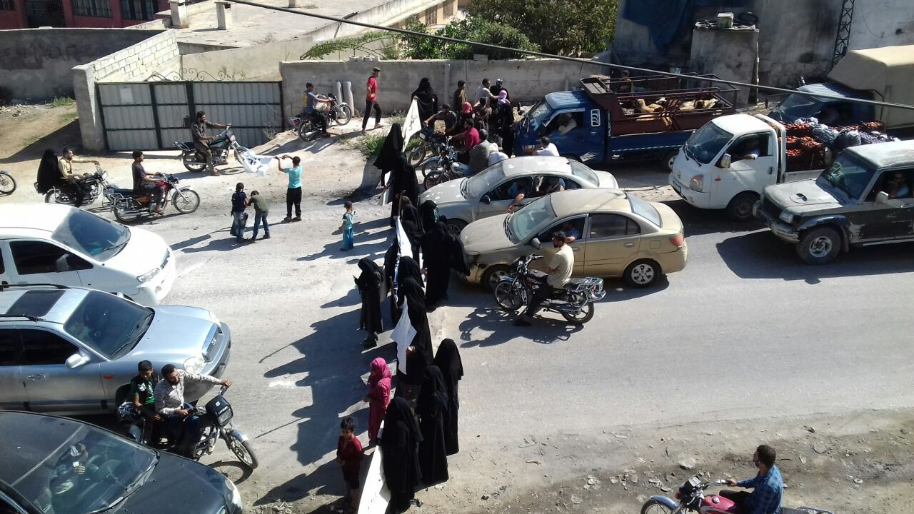 Protests in Idlib