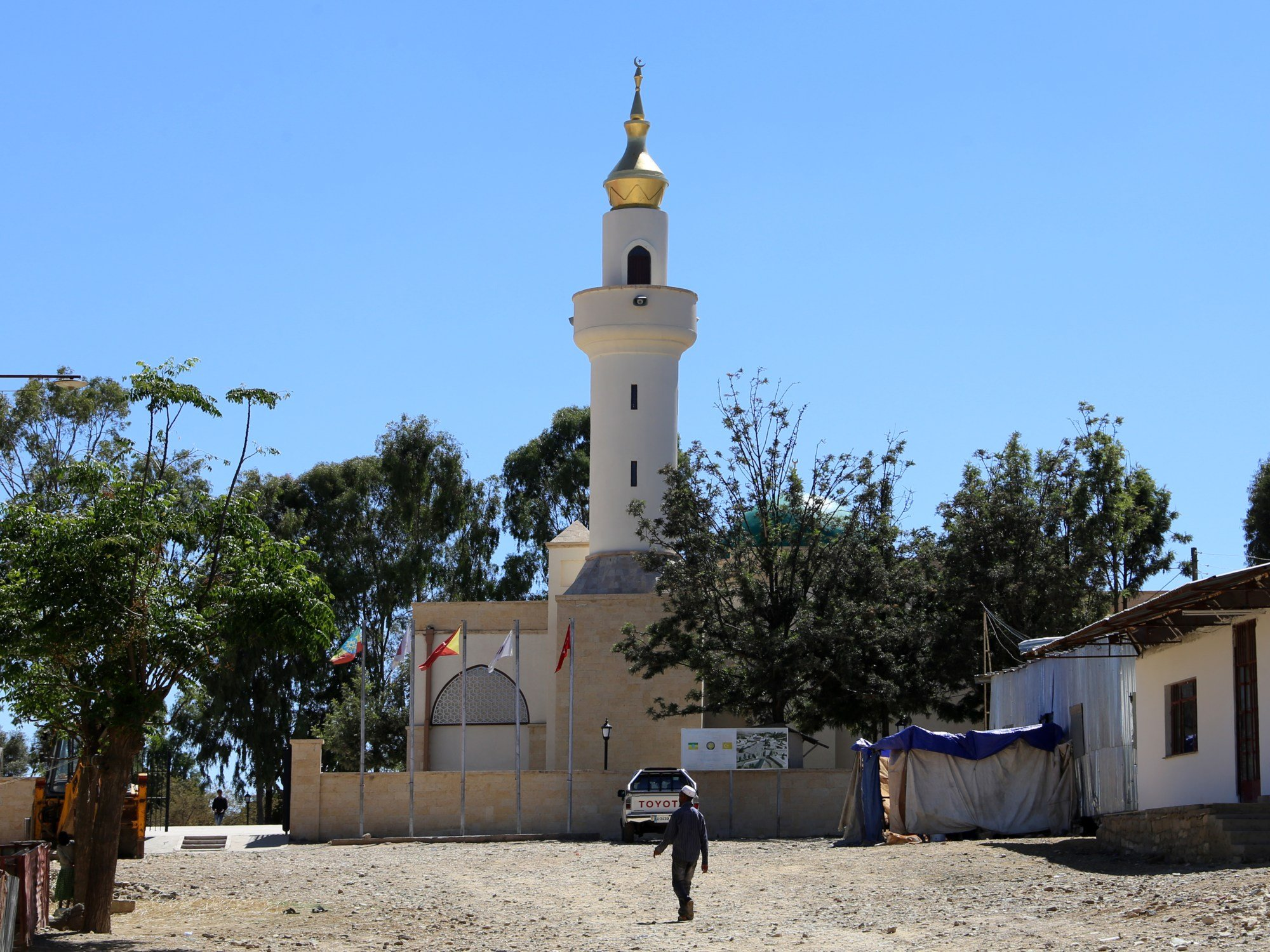The mosque, pictured here in 2018, was first built in the 7th century (Wikicommons/Sailko)