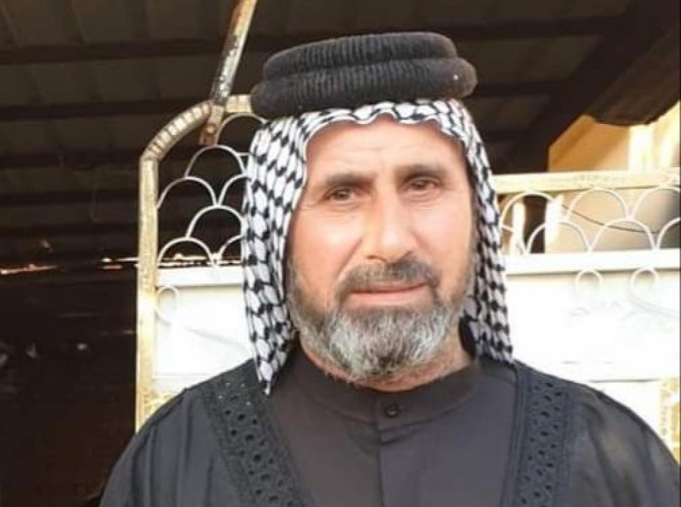 Jaseb Hattab al-Hiliji spent 17 months looking for his son before he was killed (social media)