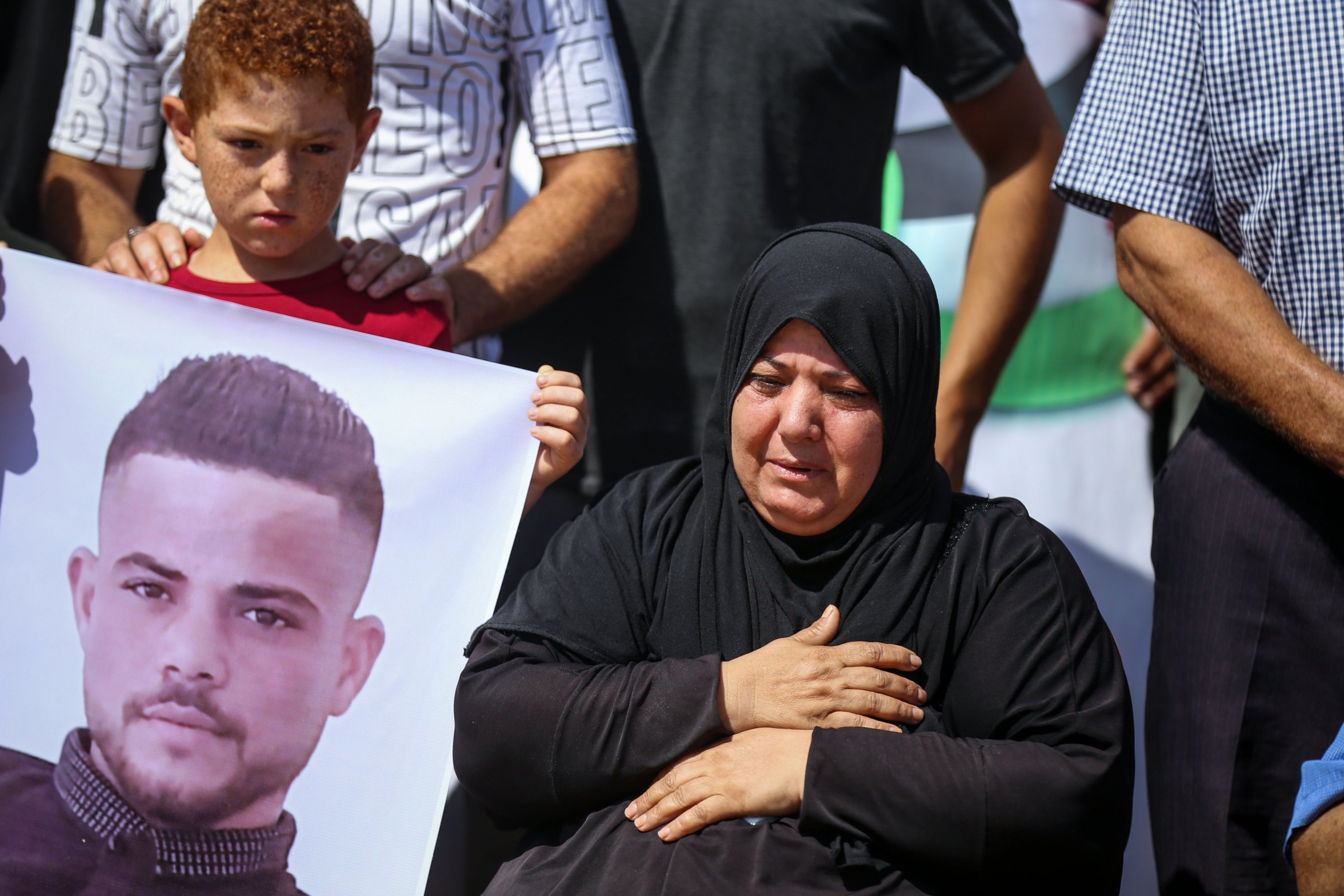 Mother of Palestinian fishermen killed by Egyptian forces