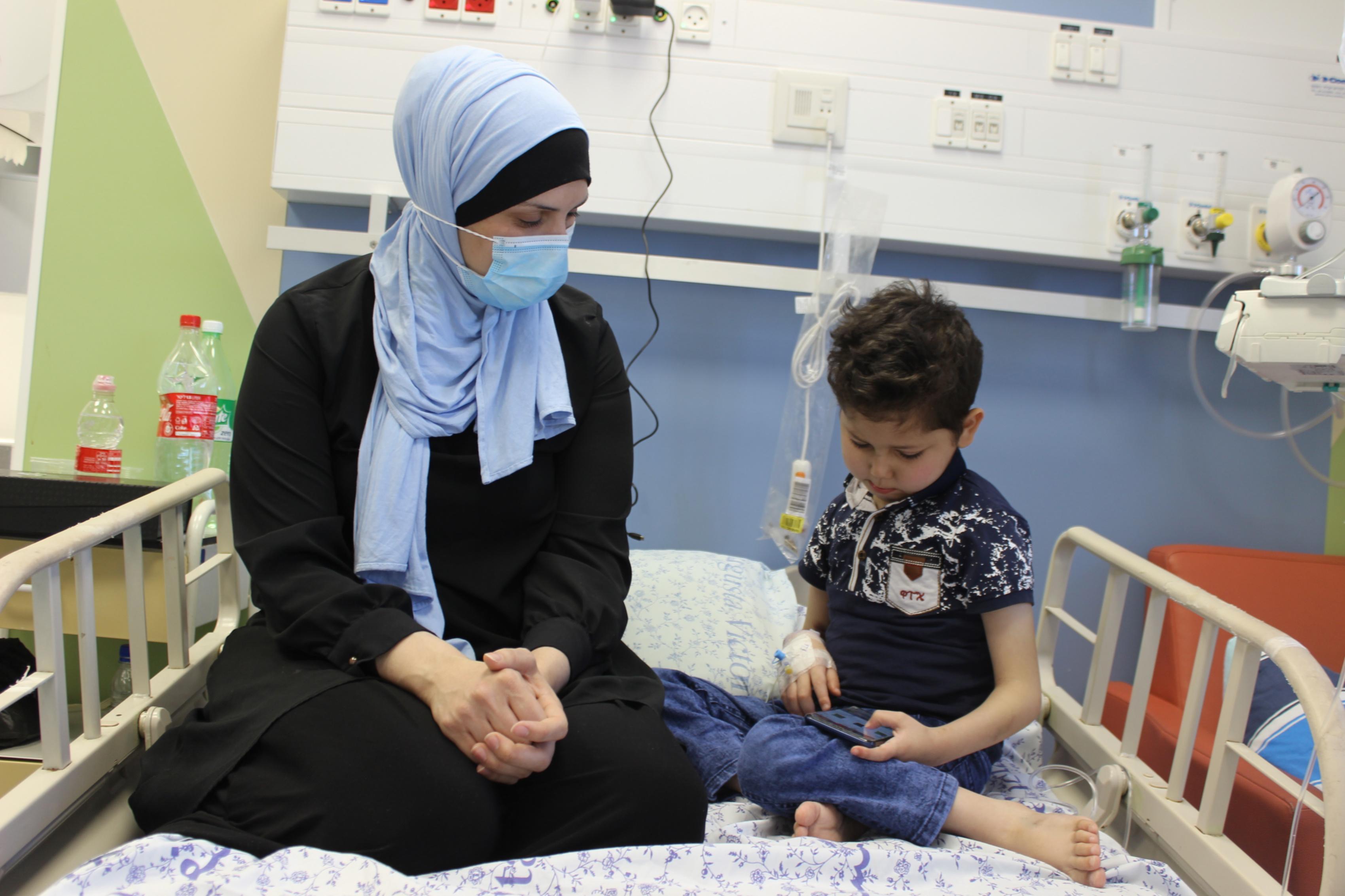 Gaza cancer patients in Jerusalem