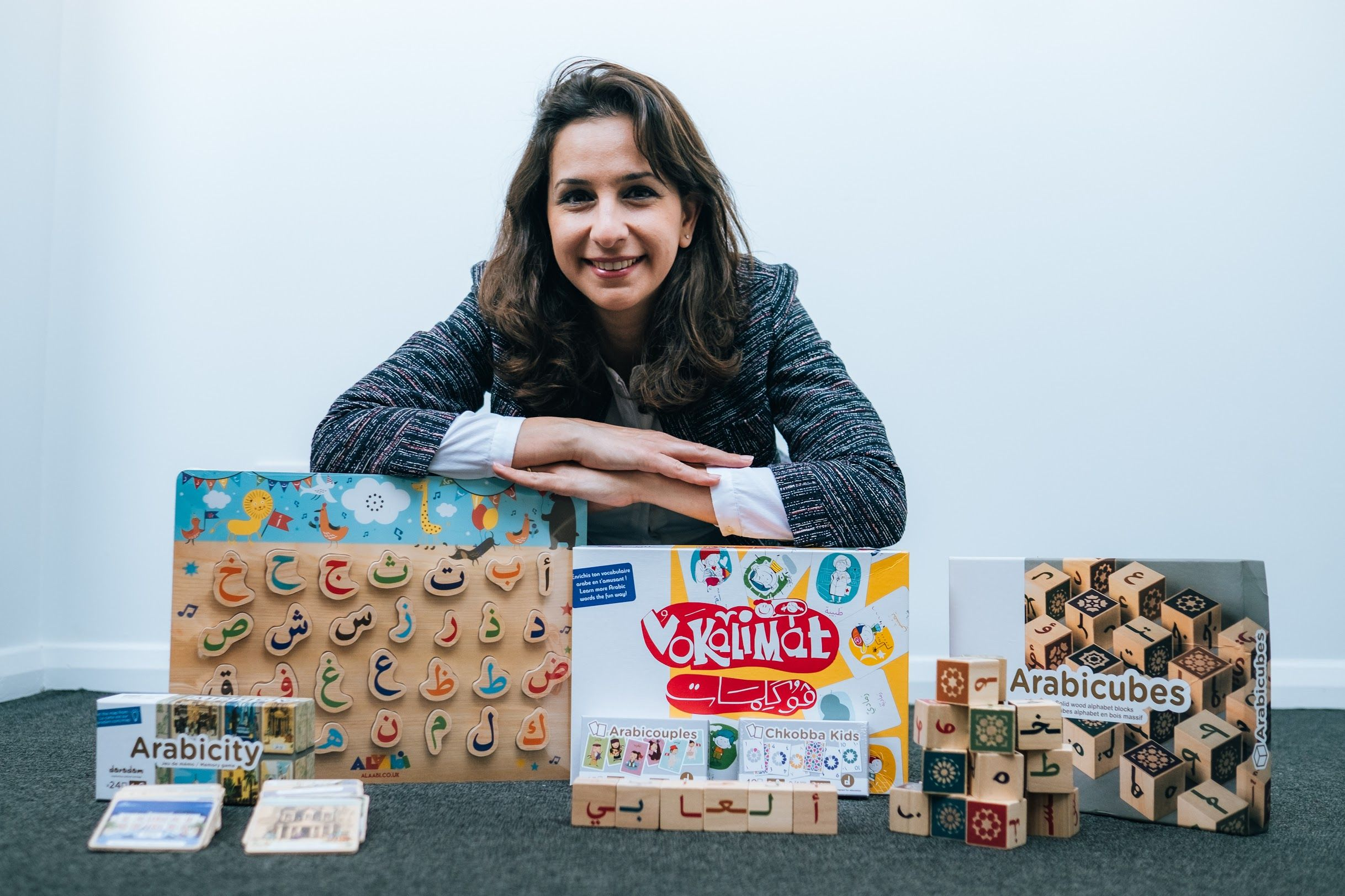 Hala Ghraib encourages teaching Arabic through play