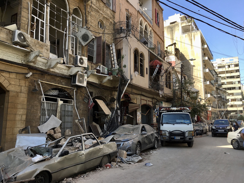 Beyrut patlaması Gemmayze