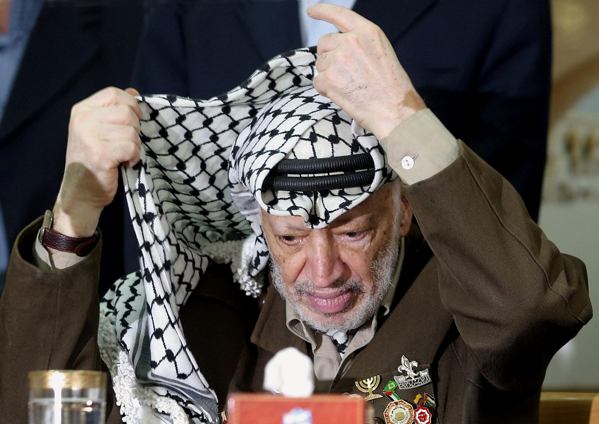 Yasser Arafat lead the Palestinian Liberation Organisation (PLO) from 1969 until his death in 2004 (AFP)