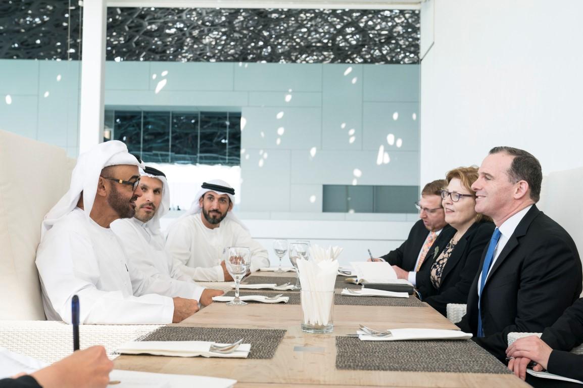 Brett McGurk, Baraba Leaf, Mohammed bin Zayed