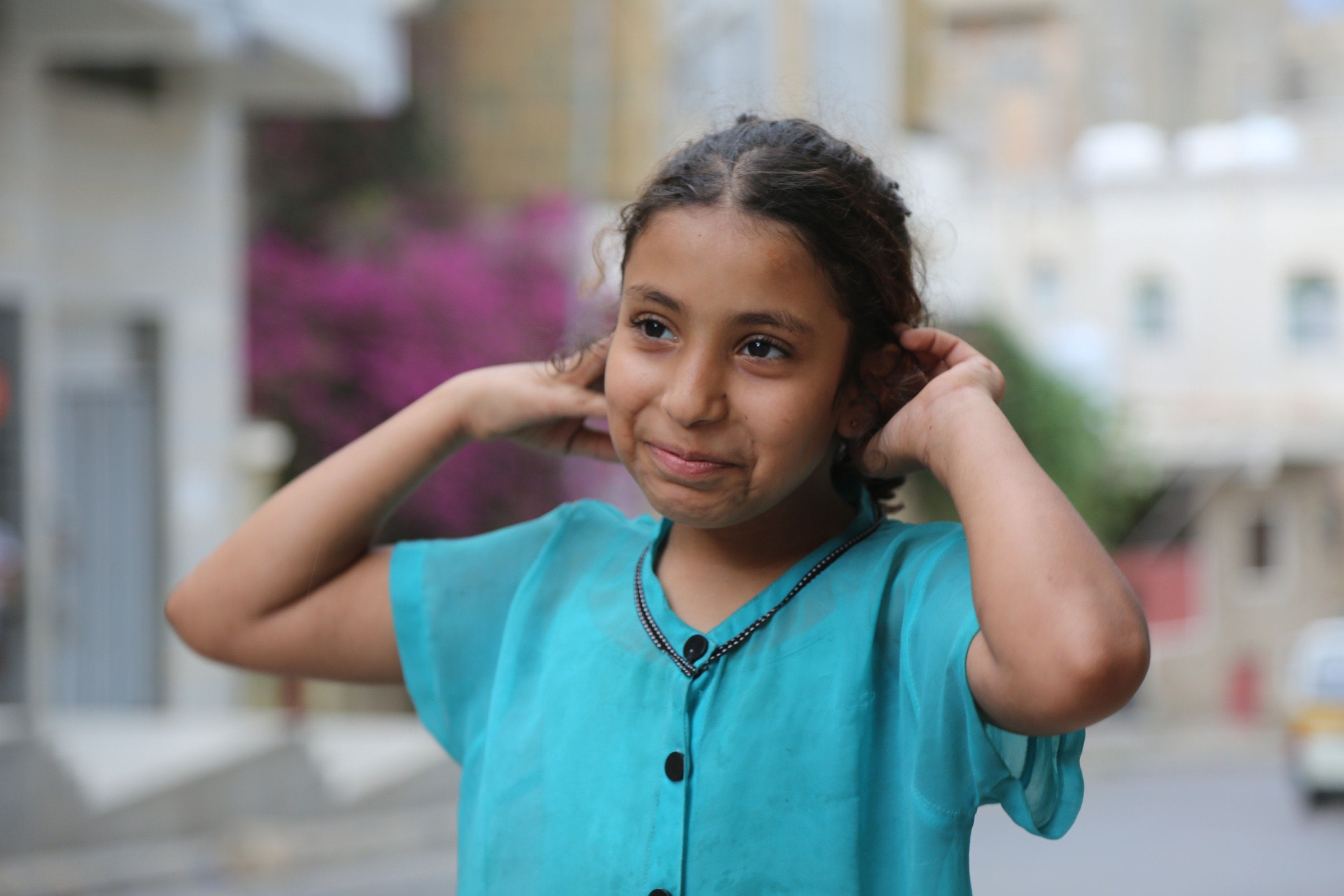 'I don't believe these good days can come back again': Sama reminisces of happier Eids spent with her parents (MEE/Khalid al-Banna)