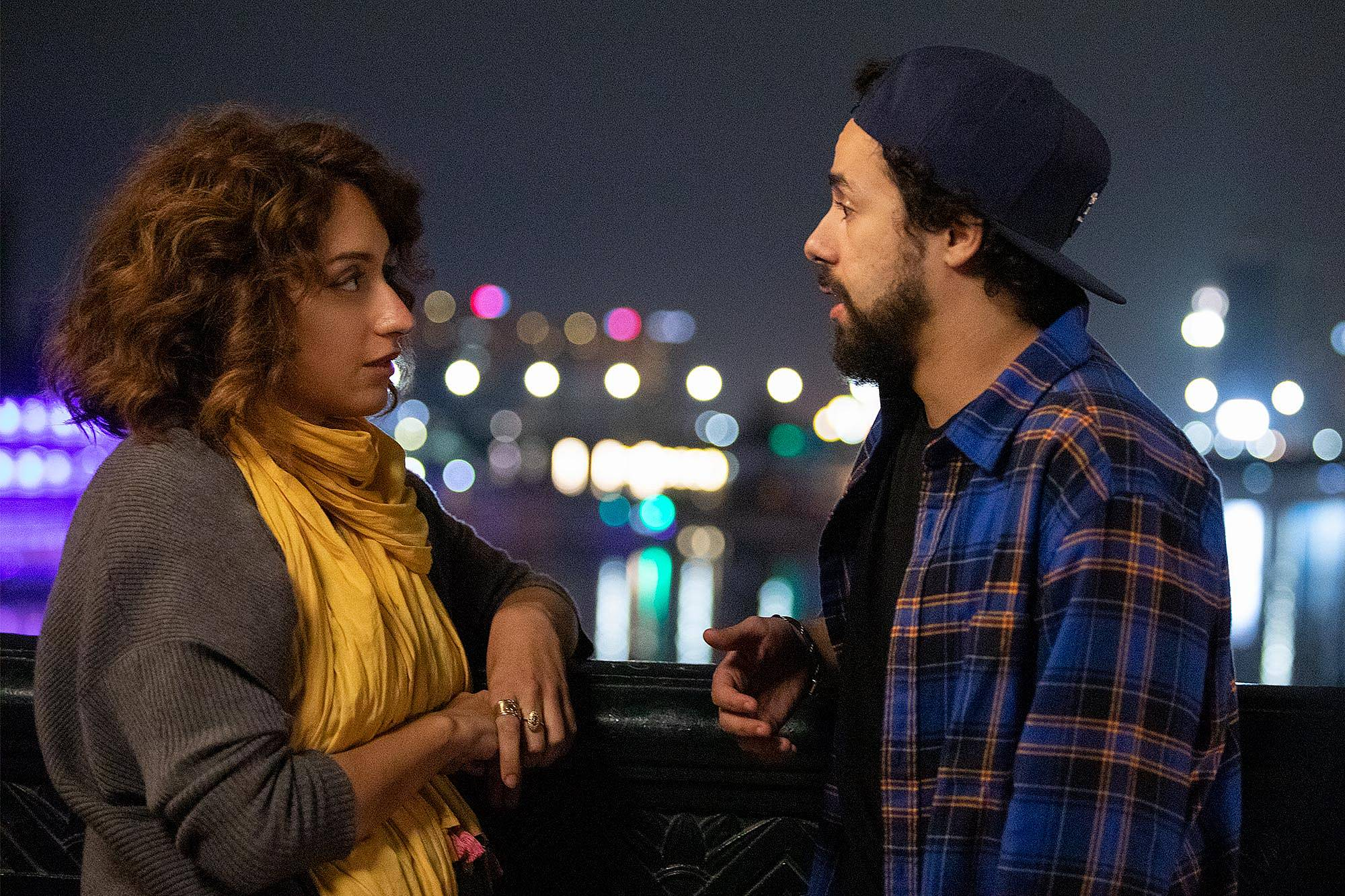 Ramy falls for his cousin, played by Rosaline Elbay - but it causes complications (Hulu)
