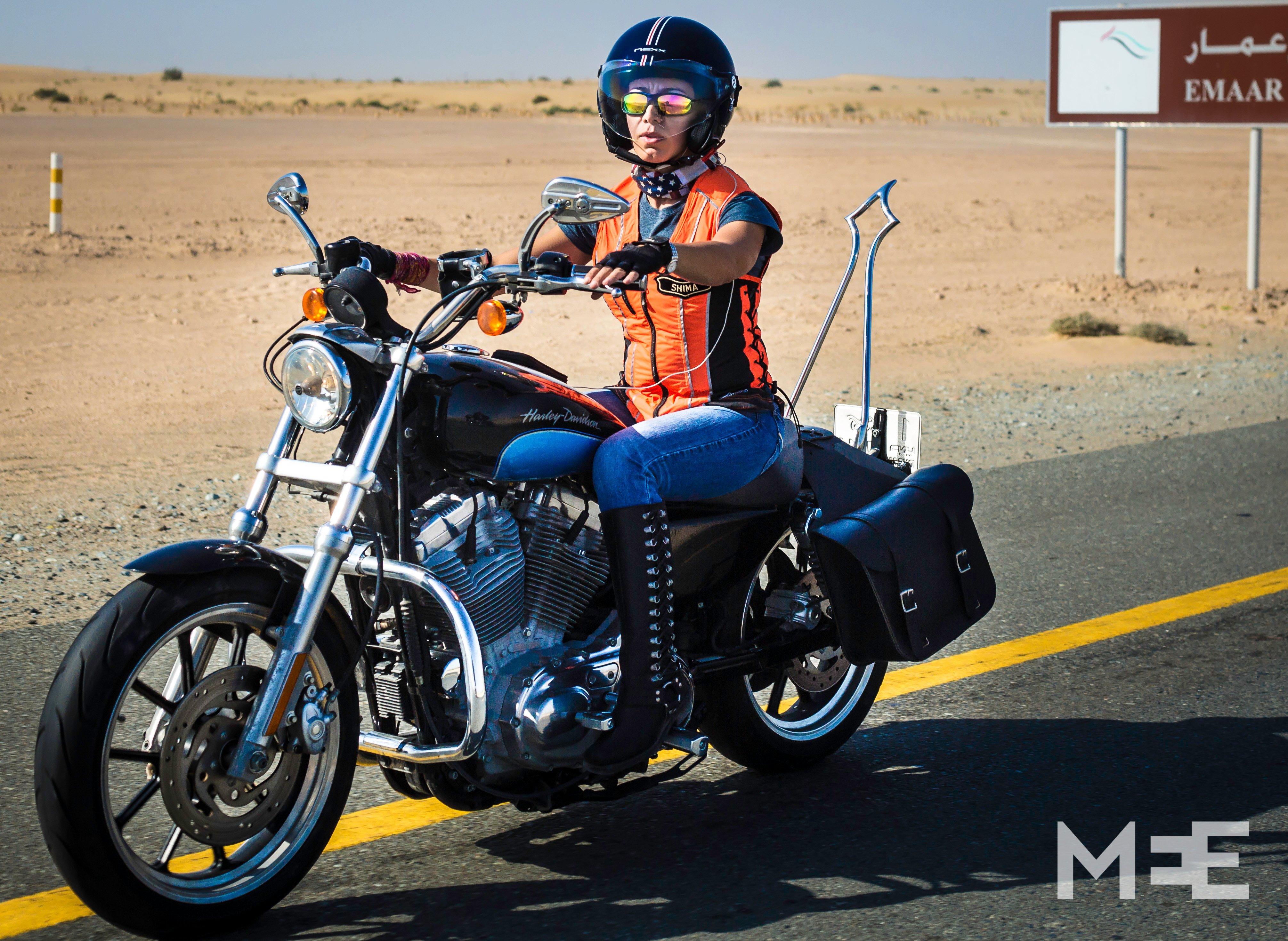 Harley Riders: Taking Back The Reins: Dubai's Female Bikers In Control