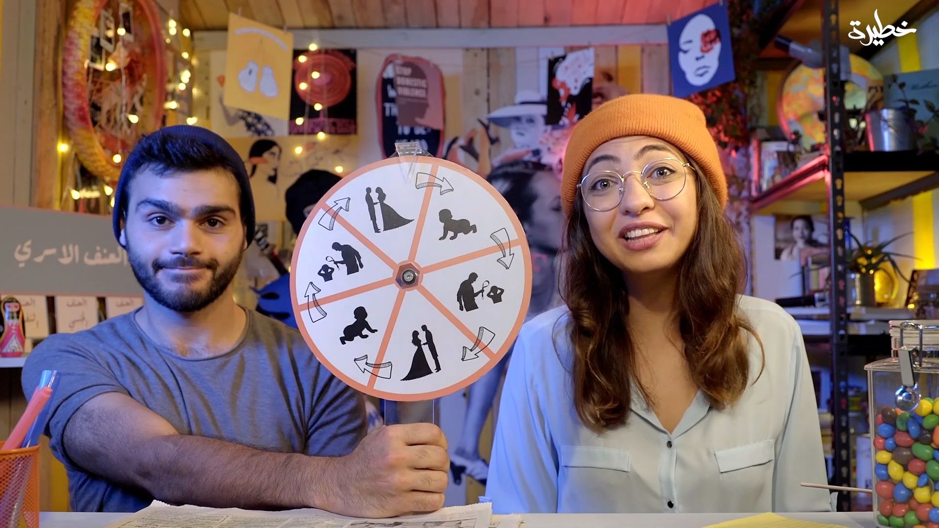 The final episode of Smi'touha Minni tackles men's issues (Courtesy of Amanda Abou Abdallah)