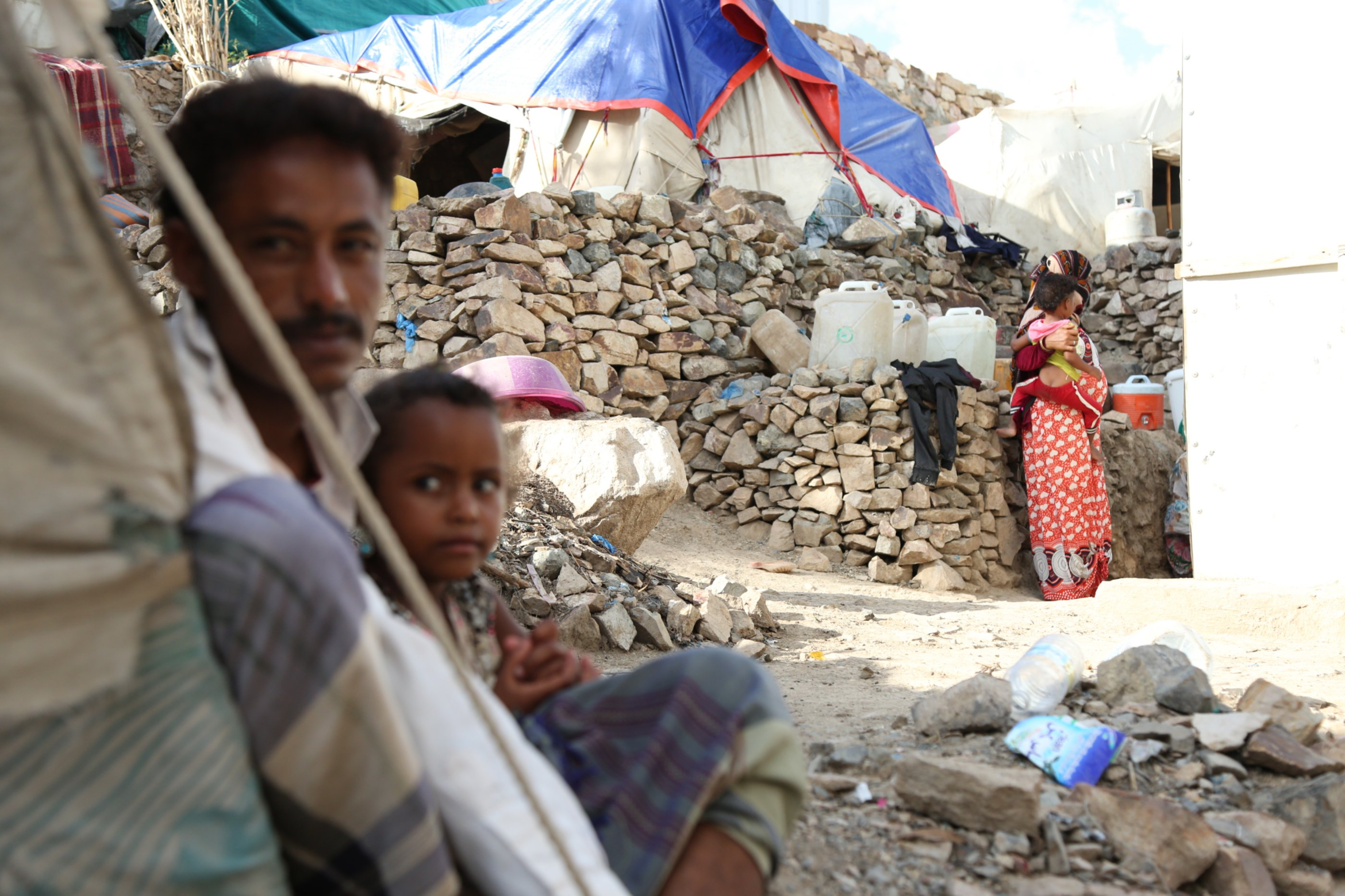 Displaced people in Yemen, Taiz