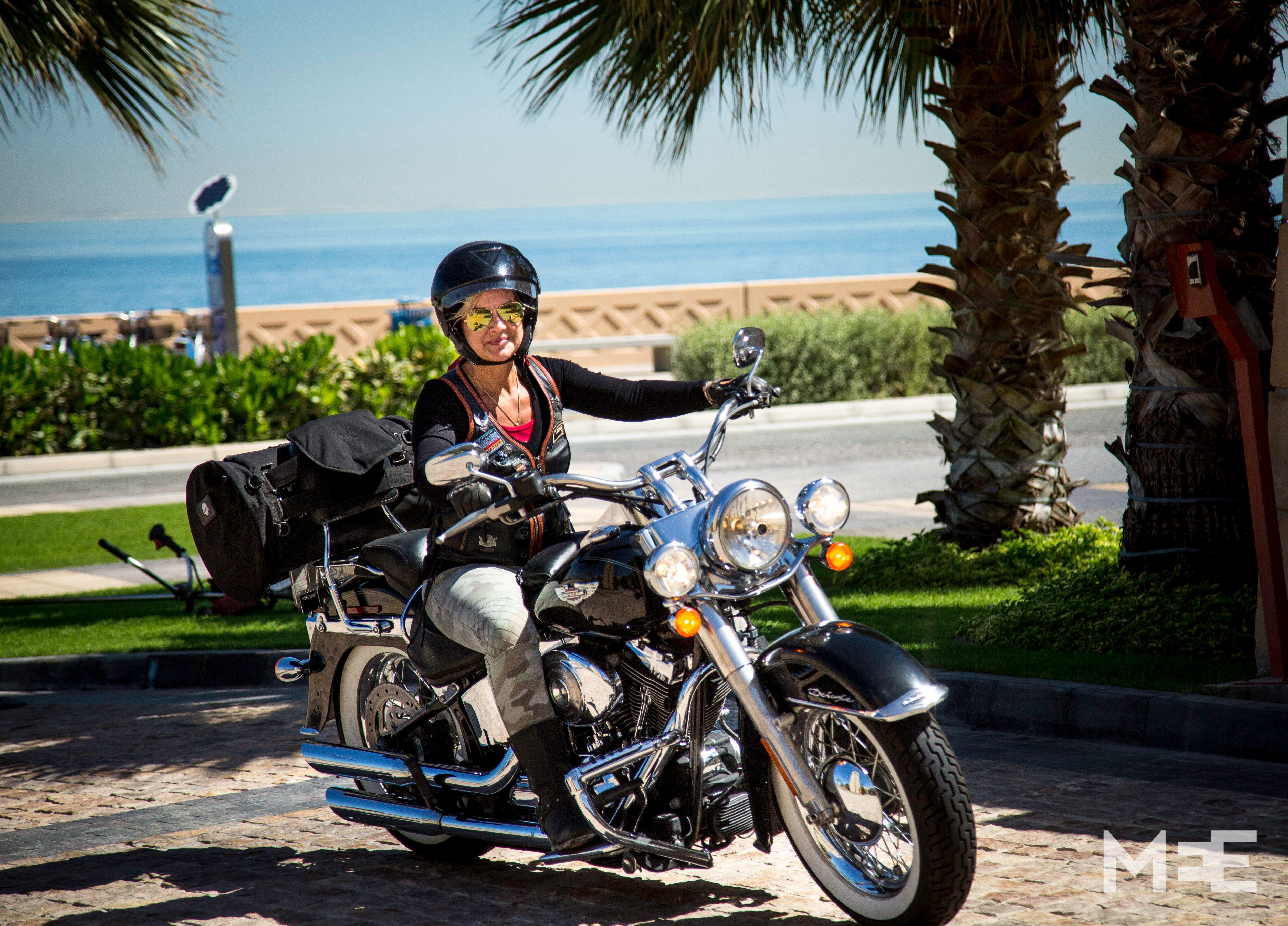 In Pictures Taking Back The Reins Dubai S Female Bikers