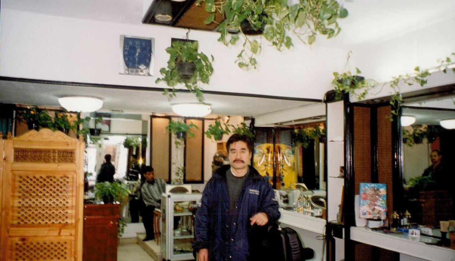 Professor Hirofumi Tanada studied urbanization in Egypt in the 1990s (Credit: Hirofumi Tanada)