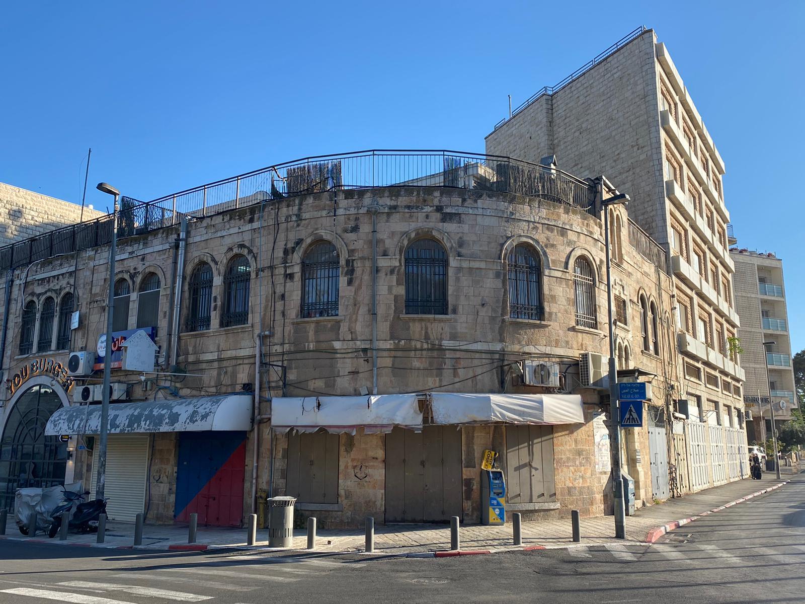 Much of Jerusalem is quiet as Palestinians respect a strike held across historic Palestine (MEE/Latifeh Abdellatif)