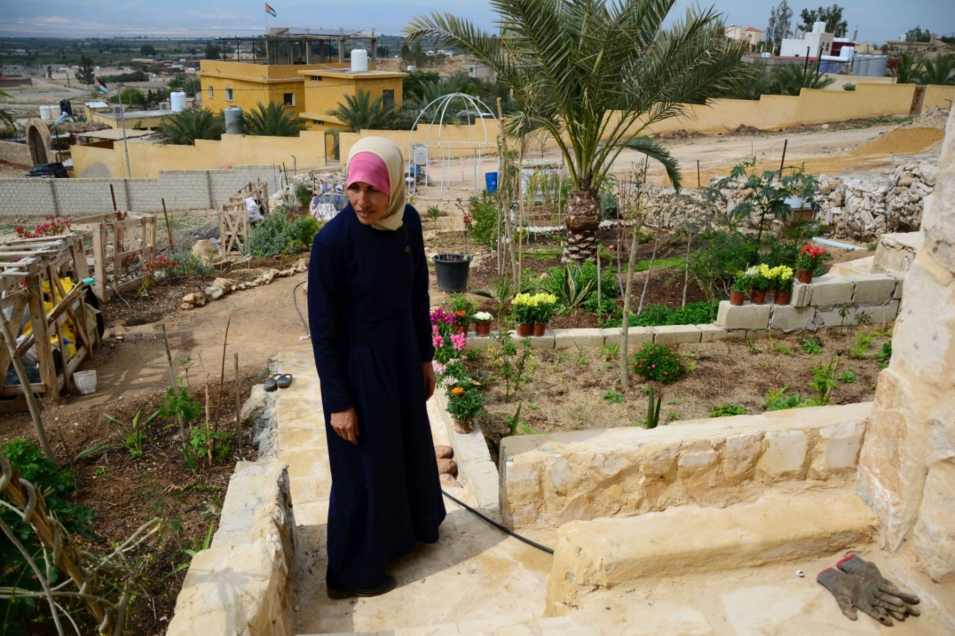 Desert green: Jordanians on frontline of climate change turn to permaculture