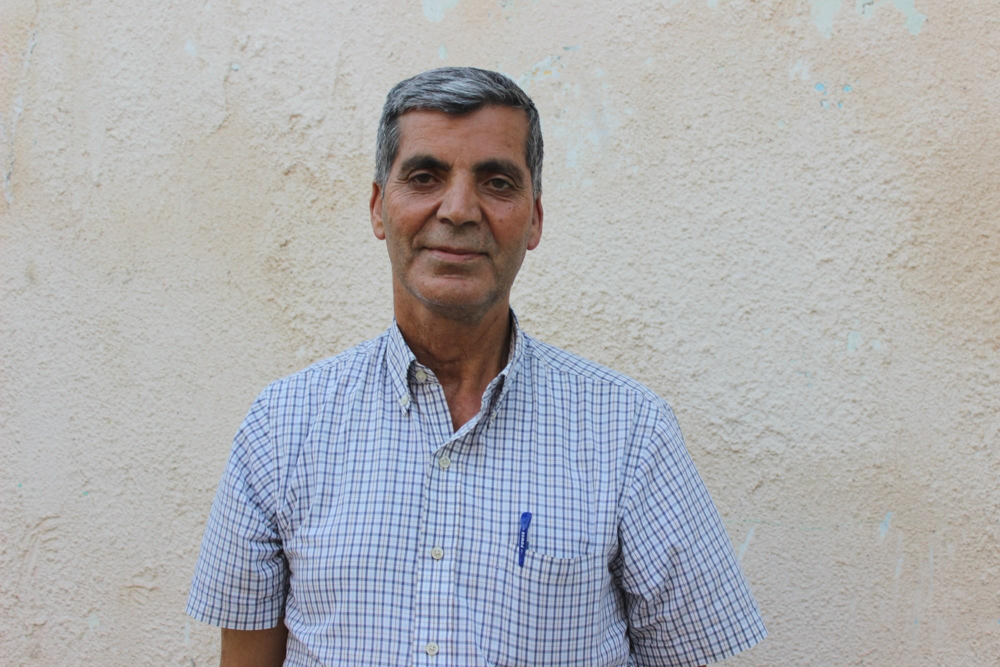 Zakaria Odeh afferma che la comunità internazionale deve intervenire per salvare Lifta (MEE/Supplied)