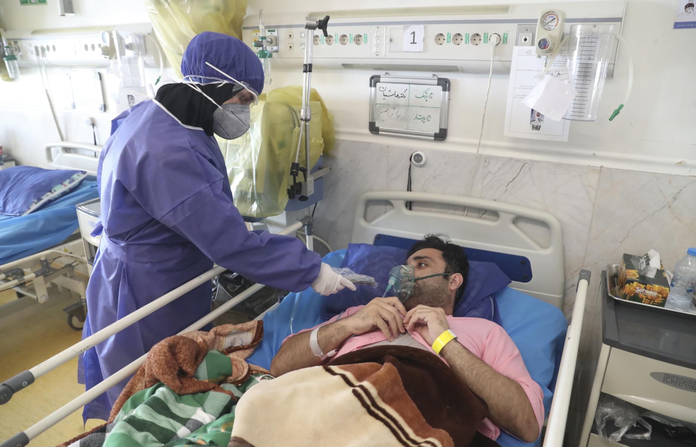 Masih Daneshvari Hospital, Iran, coronavirus