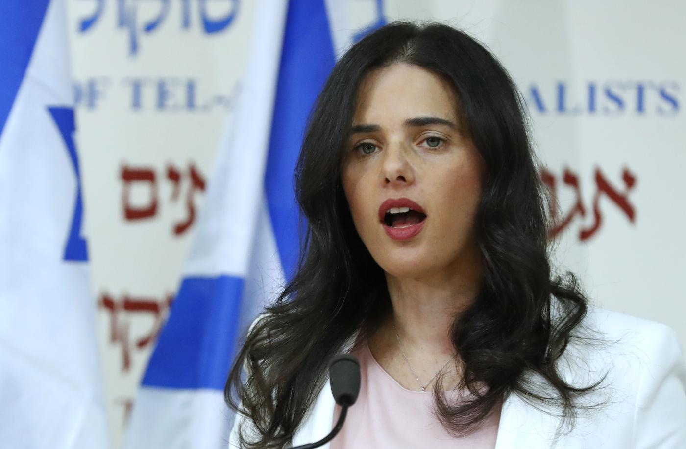 Will Ayelet Shaked be able to bridge religious and secular nationalists and draw in maximum votes from the right? (AFP)