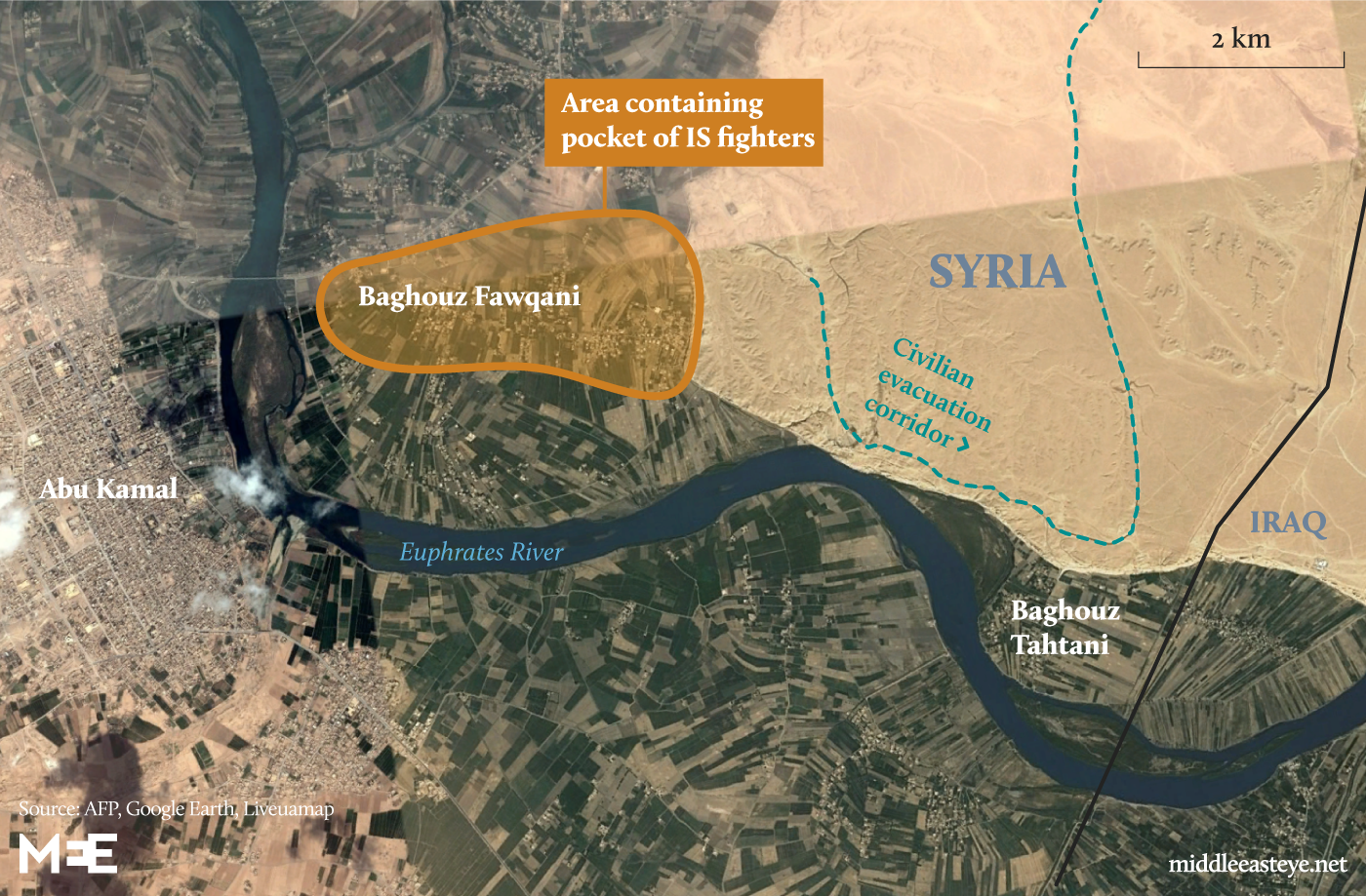 Baghouz map