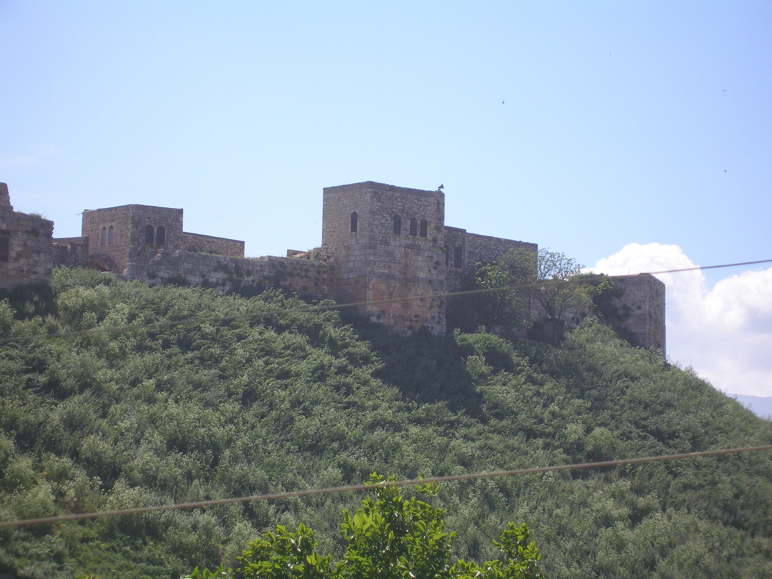A picture of Qalaat al-Mudiq taken in April 2009 (Photo by: Diana Darke)