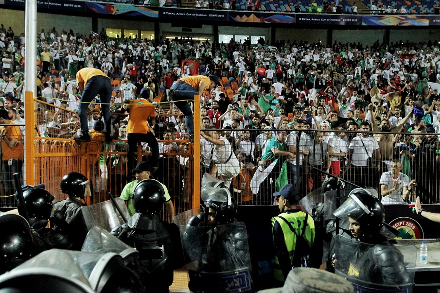 Egyptians have been rooting for Algeria's opponents at the African Cup of Nations in Egypt (MEE/MEE contributor)