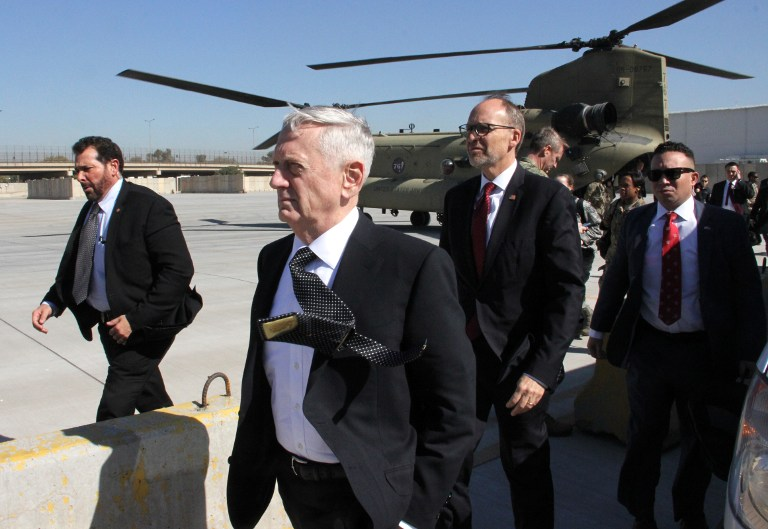 'Jaw dropping': Mattis resignation puts US in 'uncharted territory'