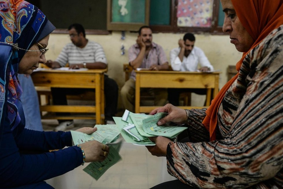 Egypt s farcical elections middle east eye for Farcical in arabic