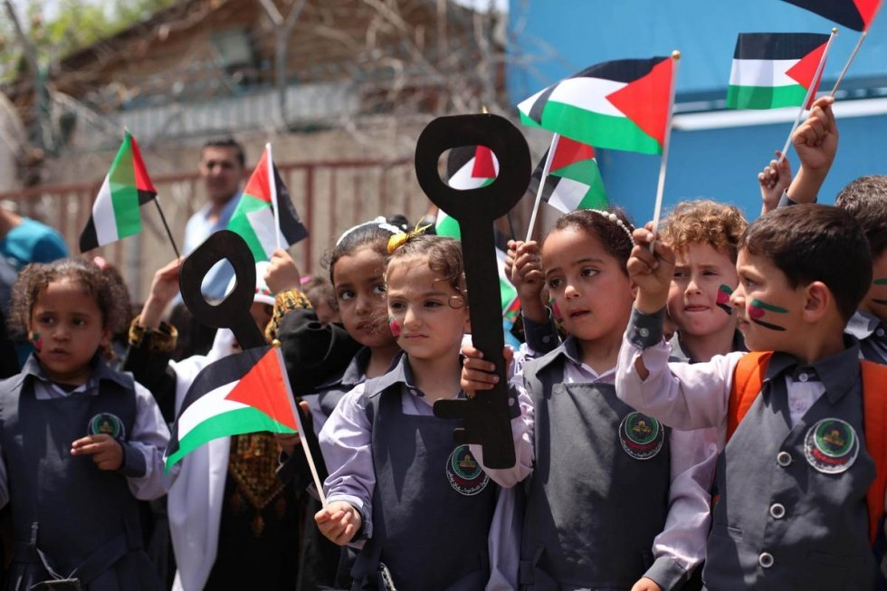 Palestinian children right of return