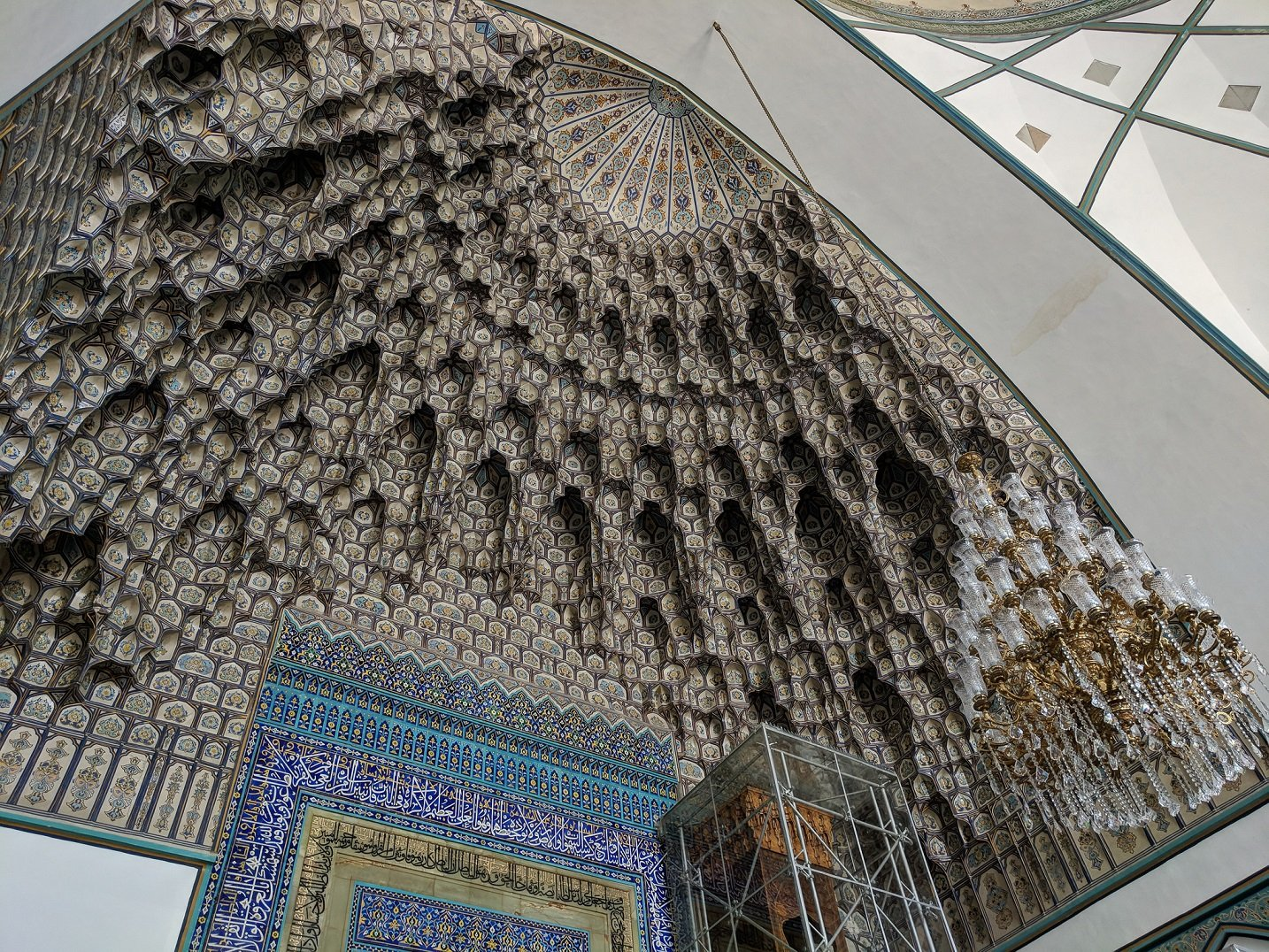 Goharshad Mosque Muqarnas