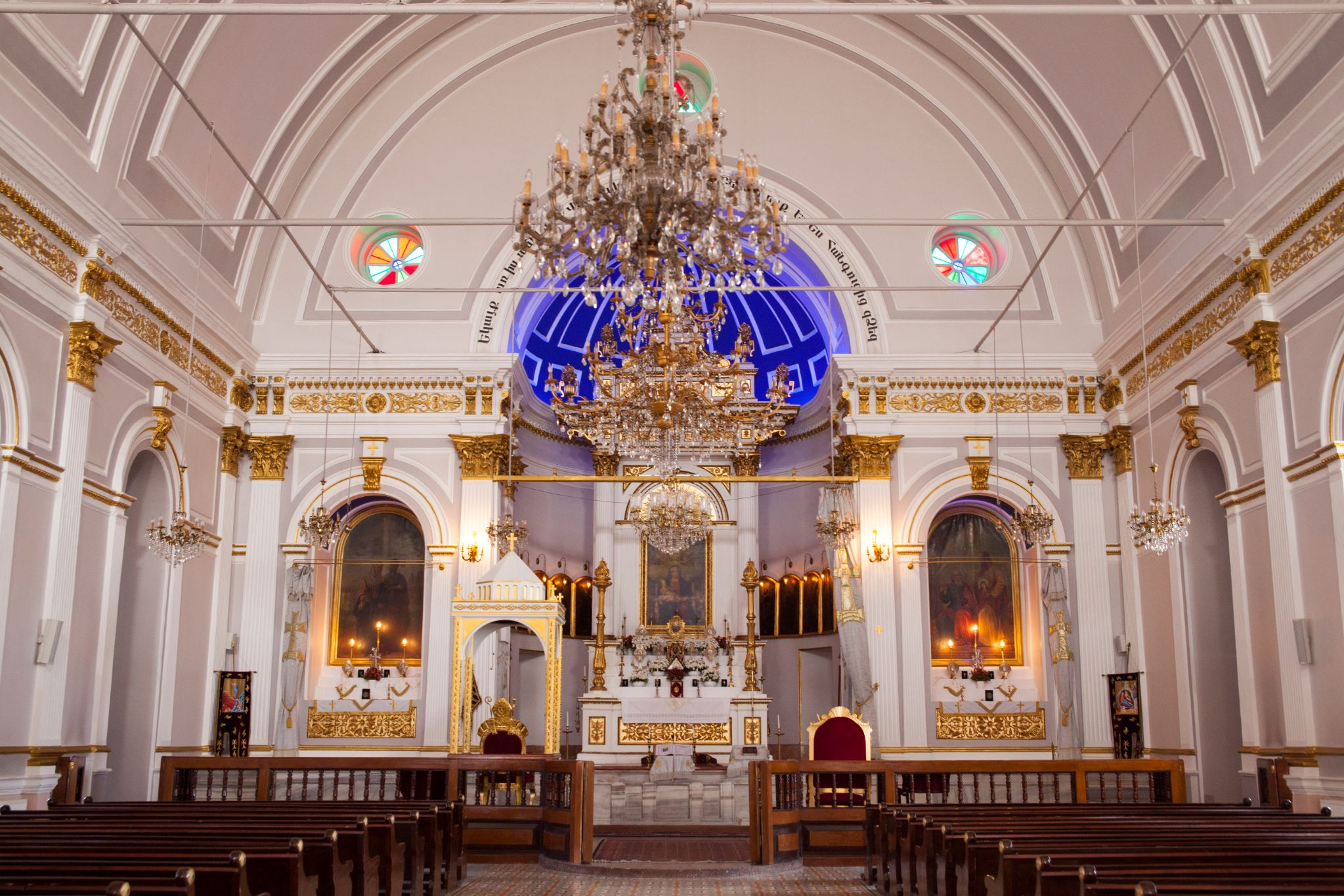 The place of worship was originally built as a Greek Orthodox Church in the 11th century
