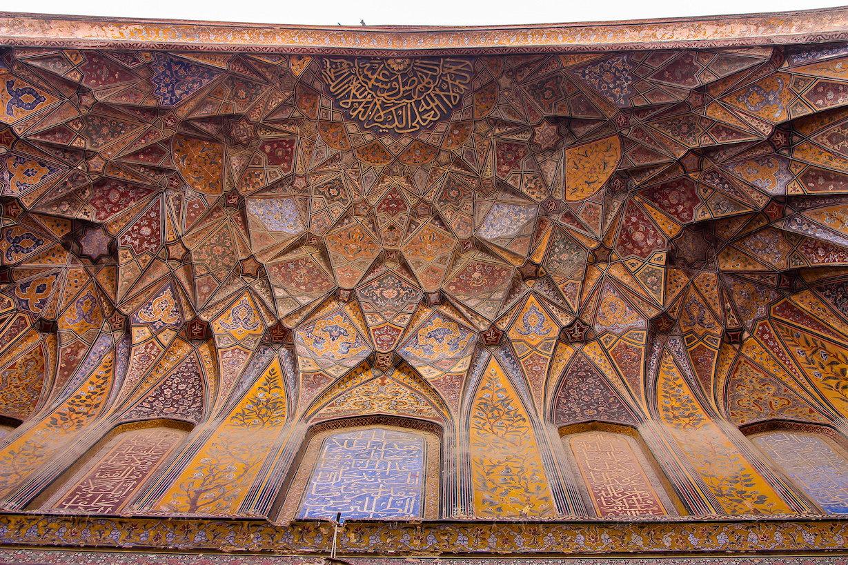 Wazir Khan Mosque Muqarnas