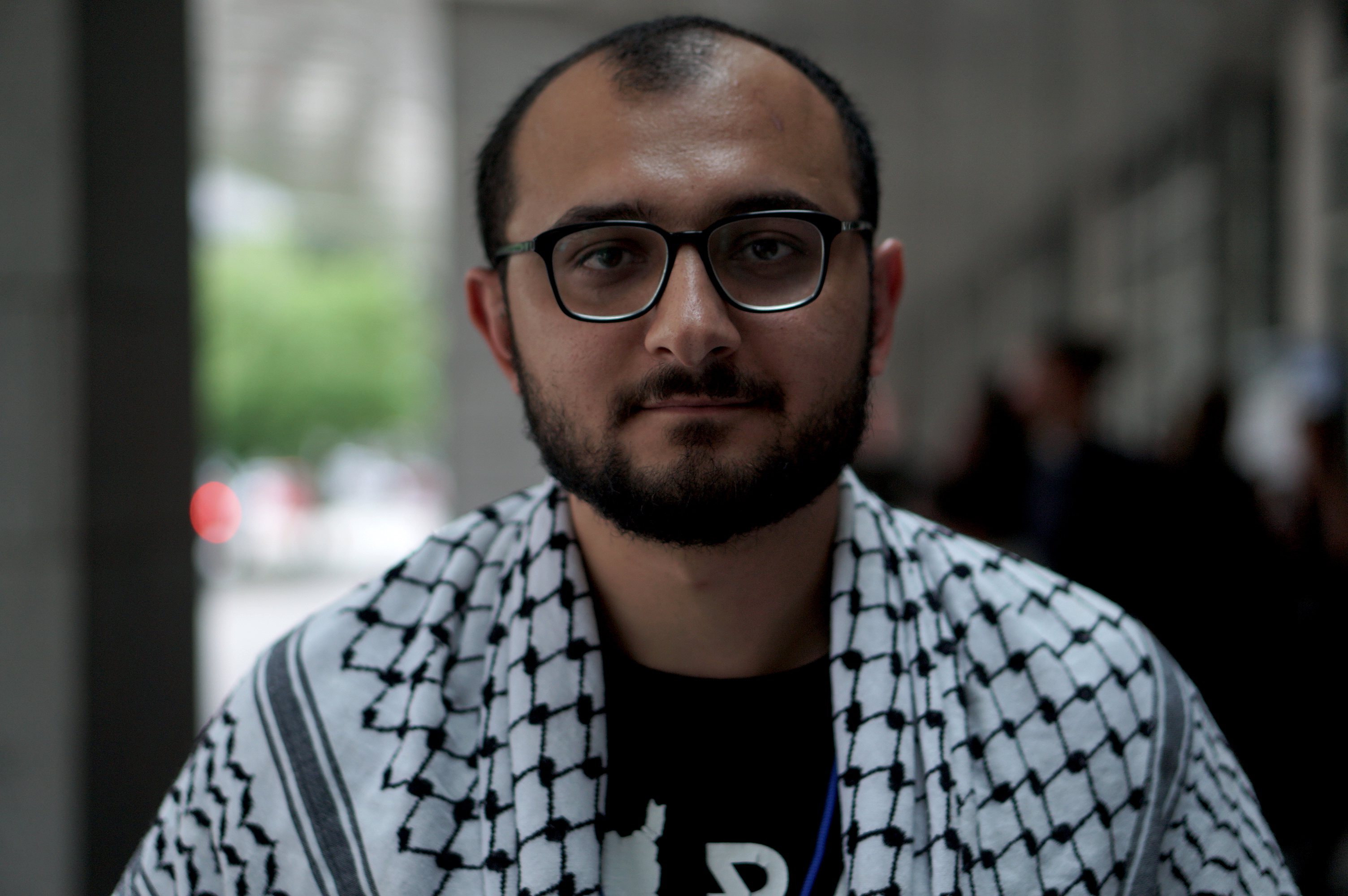 Taher Herzallah says that it is imperative for Muslim organisations to be at the forefront of opposing CUFI and what it represents [Azad Essa/MEE]