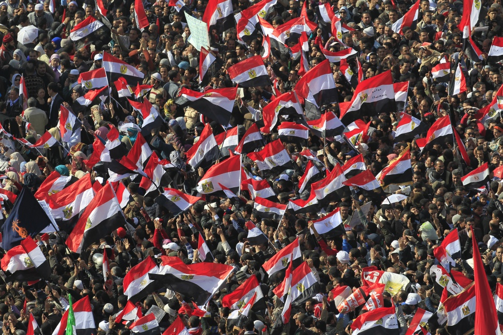 Tahrir Square became the rallying point for Egyptian protesters during the 2011 uprising (AFP)
