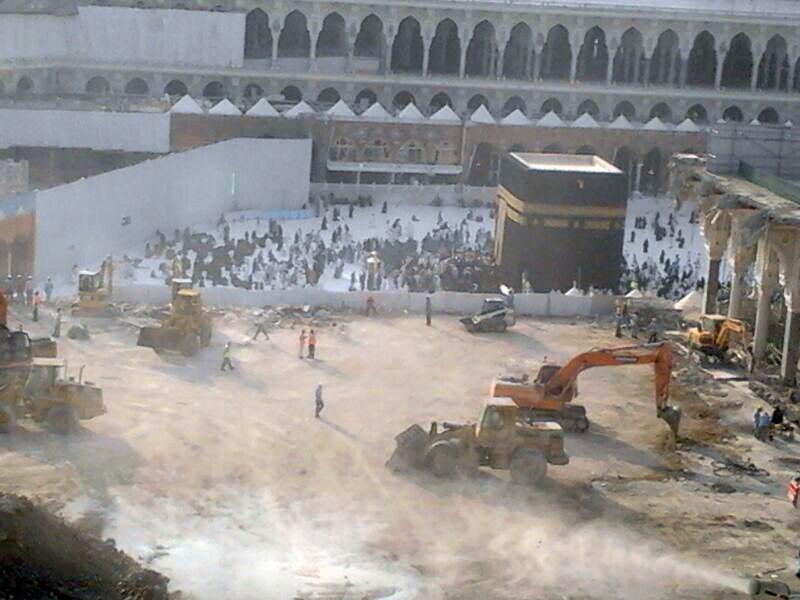 Saudi 'cultural vandalism' of Muslim heritage continues