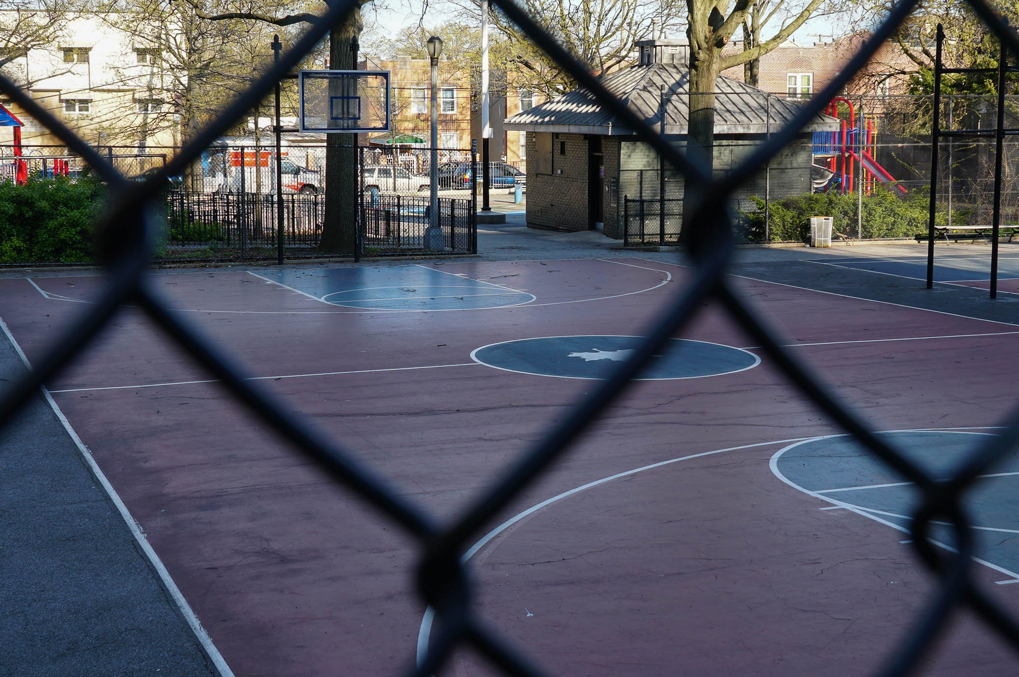 Basketball court Bronx