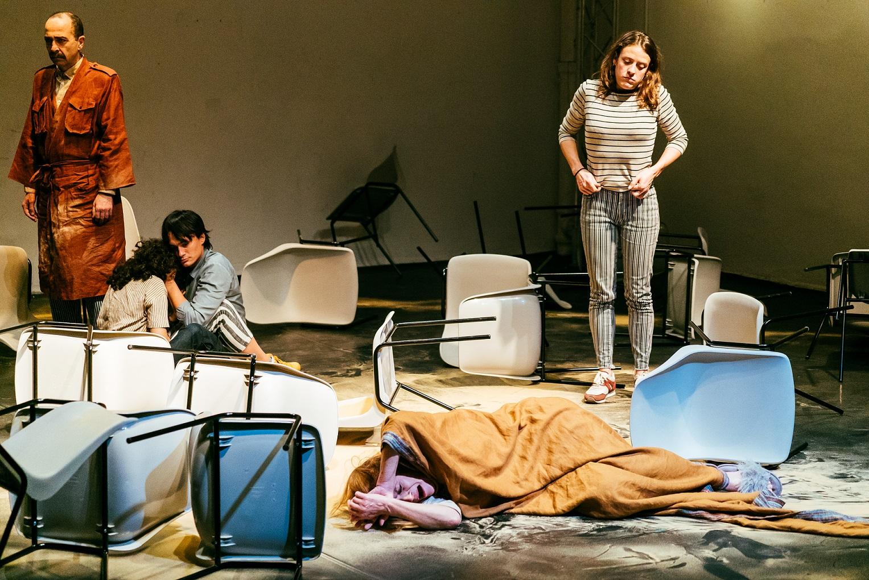 Extrait de la pièce Place, de Tamara Al Saadi (Baptiste Muzard/avec l'aimable autorisation de de Tamara Al Saadi)
