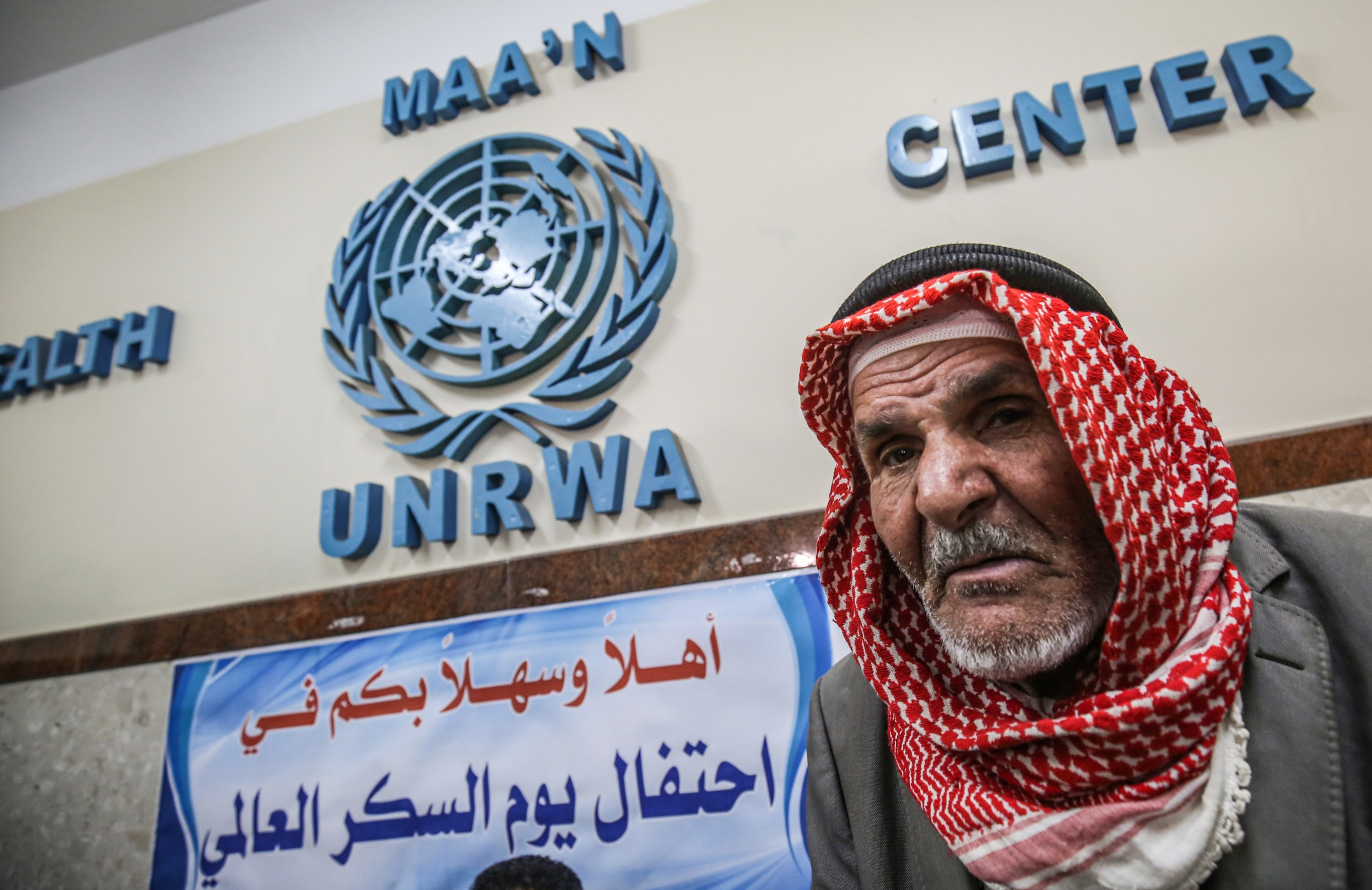 UNRWA provides schooling and medical services to millions of Palestinian refugees in Jordan, Lebanon and Syria as well as the Palestinian territories (AFP)